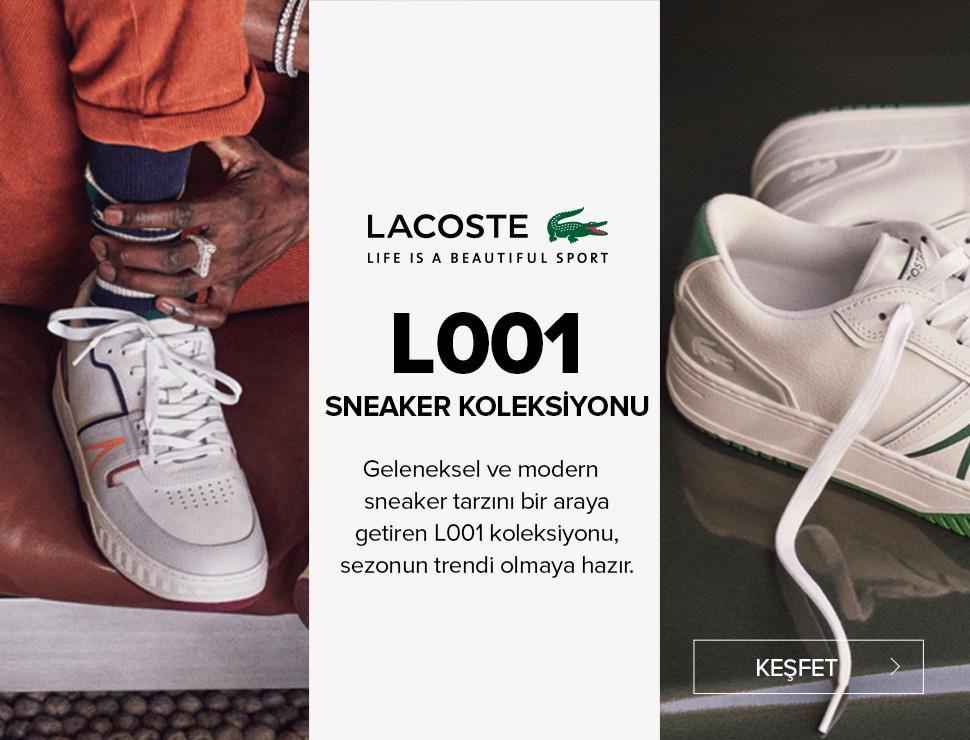 Lacoste L001 Sneaker Koleksiyonu