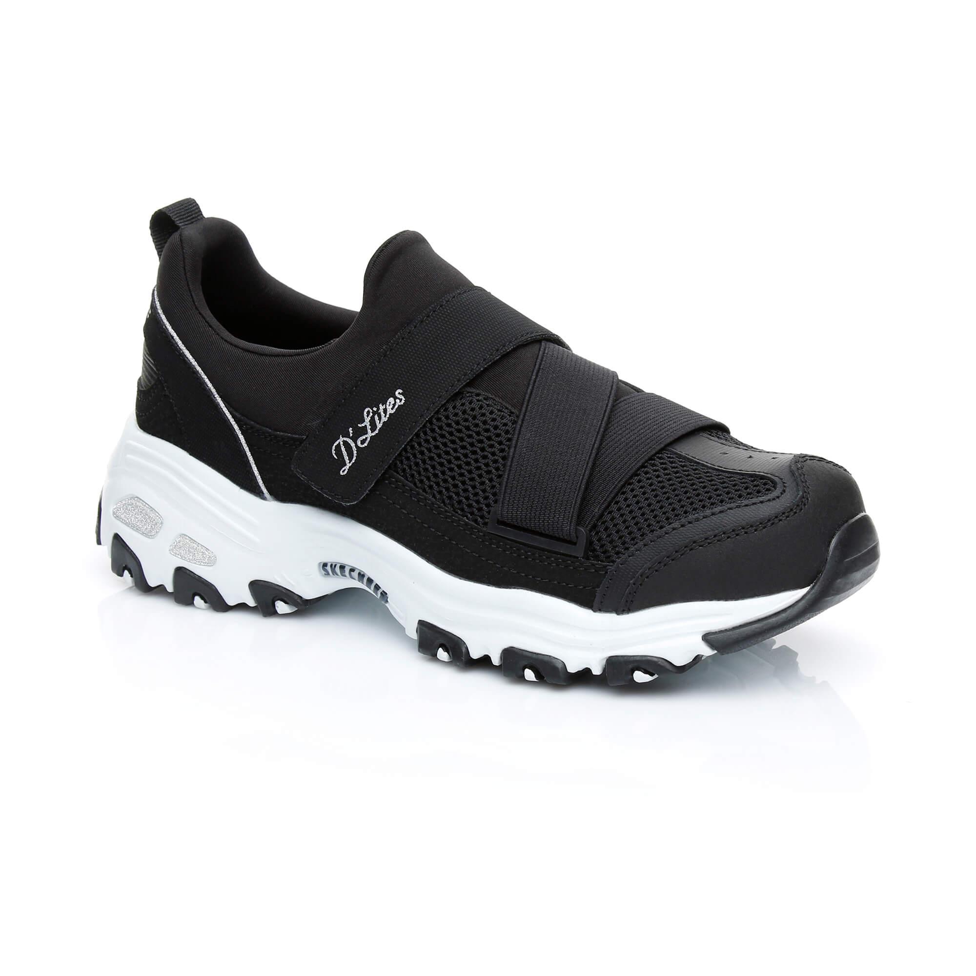 Skechers D'lites-This Just In Kadın Siyah Sneaker