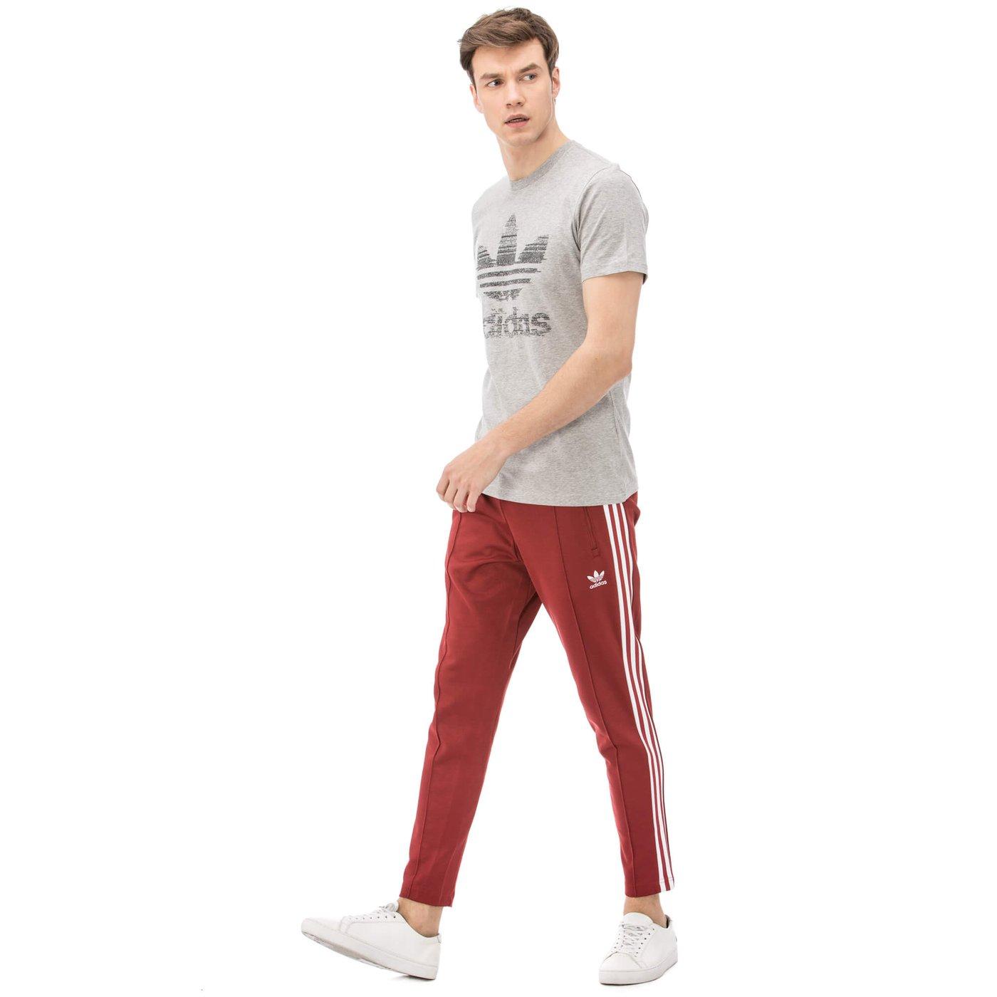 adidas BeckenBauer Tp Rusred Erkek Kırmızı Eşofman Altı