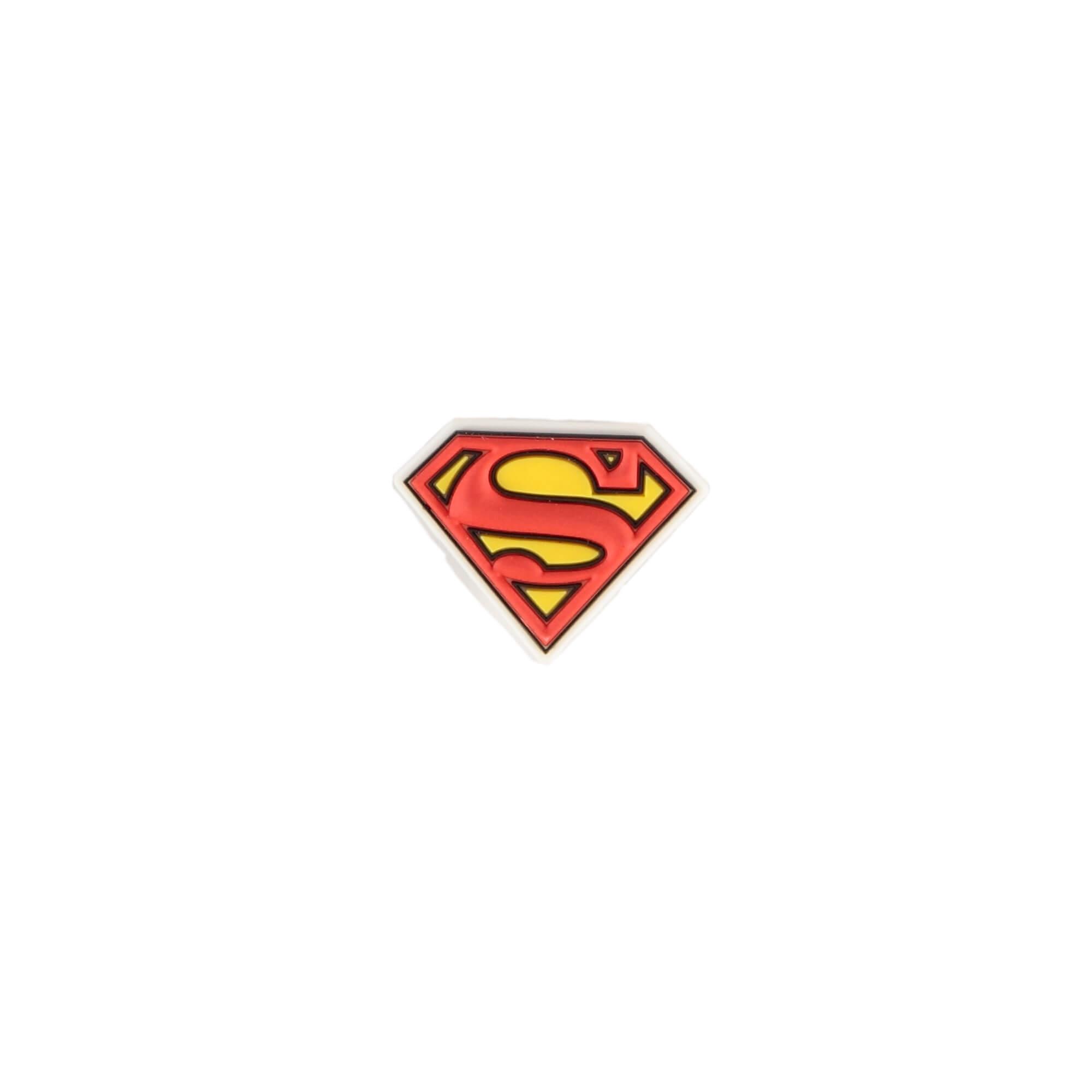 Crocs Superman Logo Çocuk Kırmızı Sandalet Rozeti