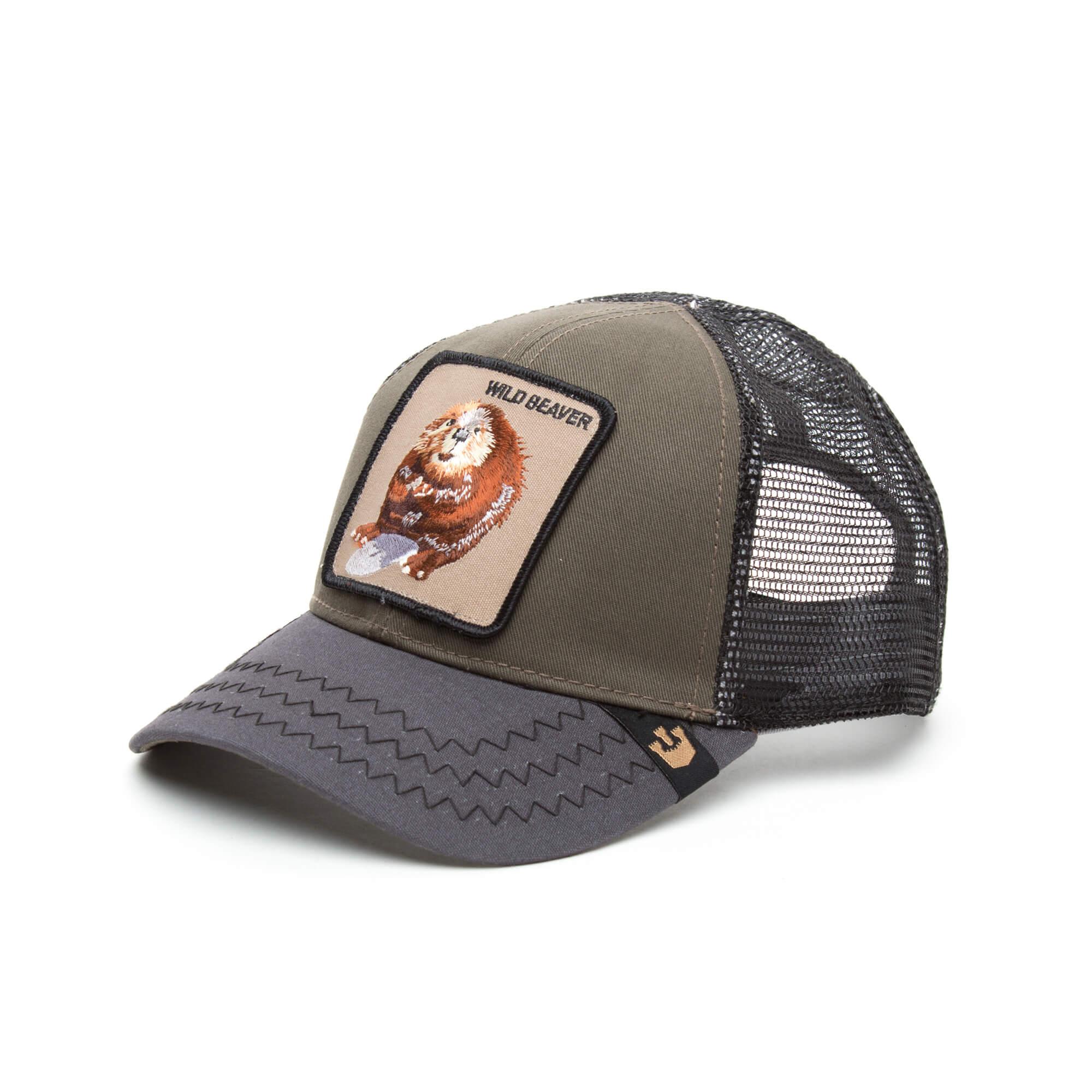 Goorin Bros Wild Beaver Unisex Yeşil Şapka