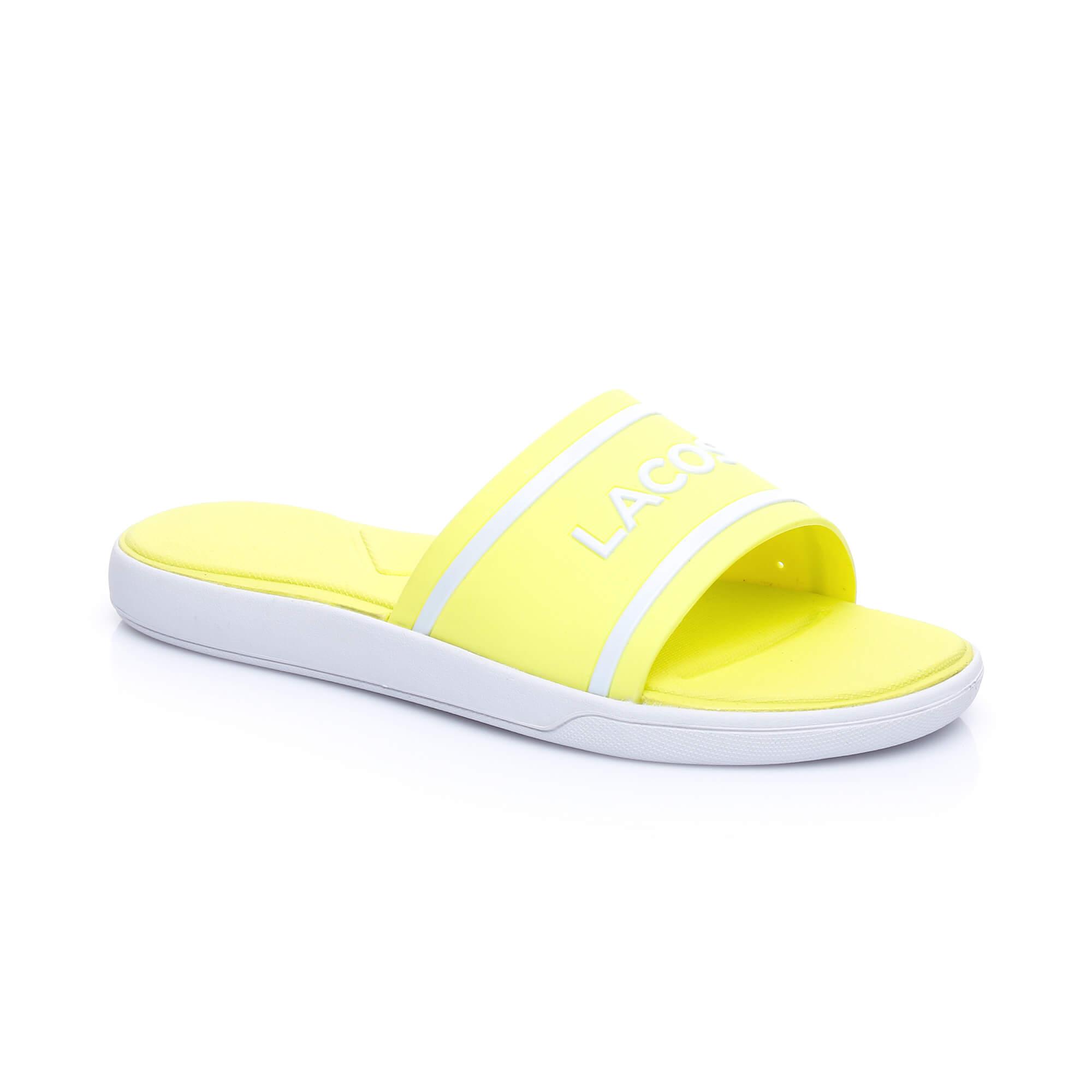 Lacoste L.30 Slide Kadın Sarı Terlik