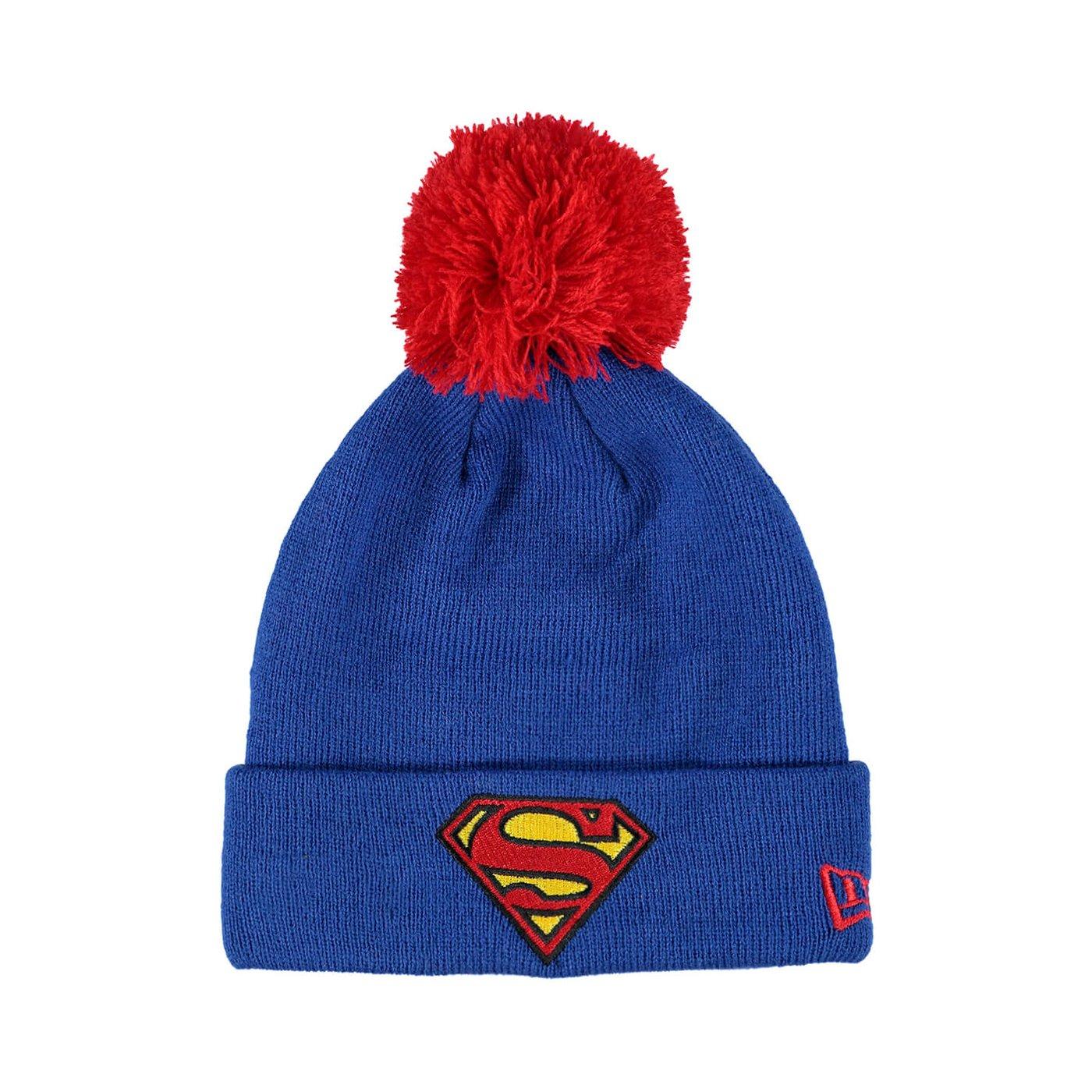 New Era Superman Unisex Lacivert Bere