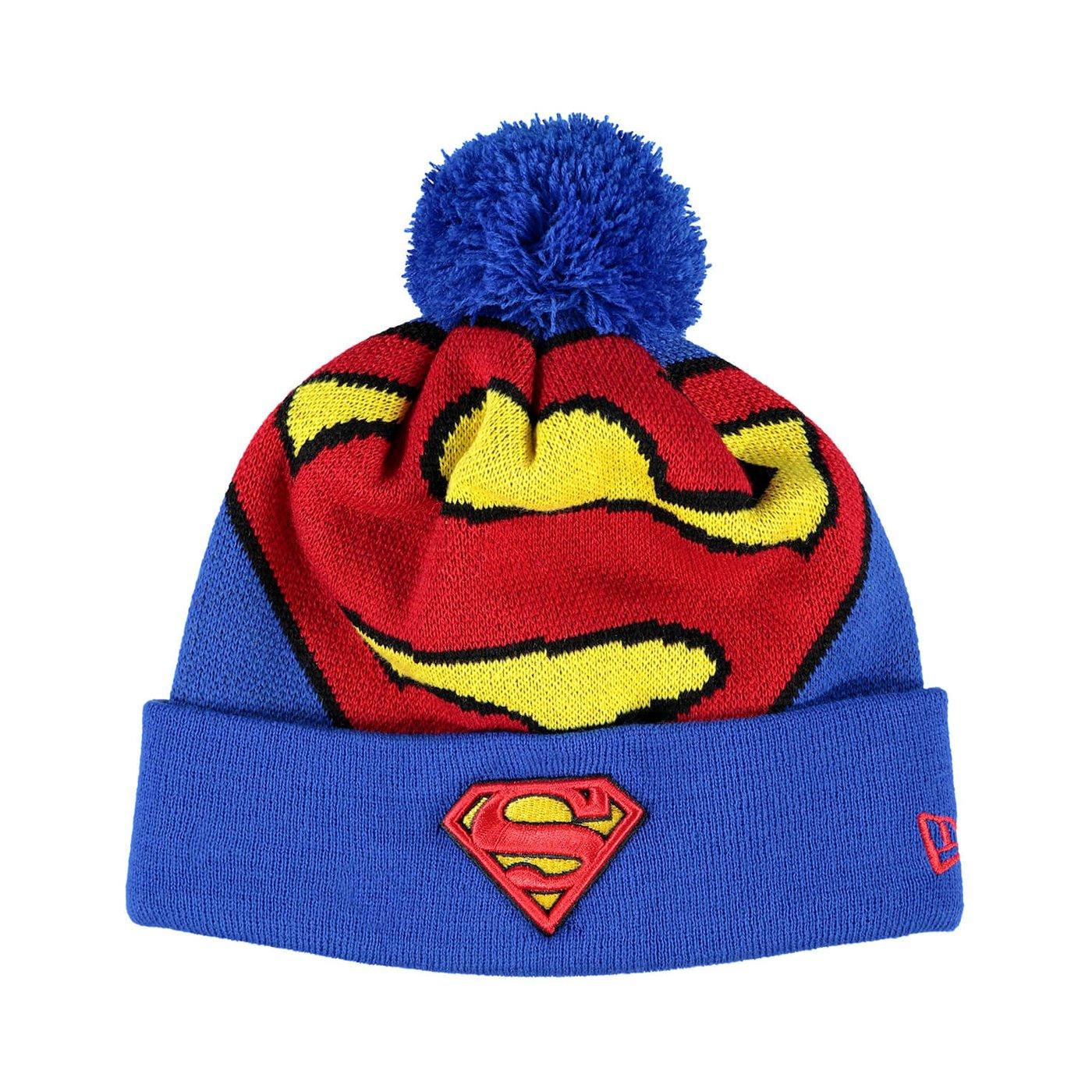 New Era Superman Unisex Mavi Bere