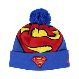 New Era Superman Unisex Mavi Bere