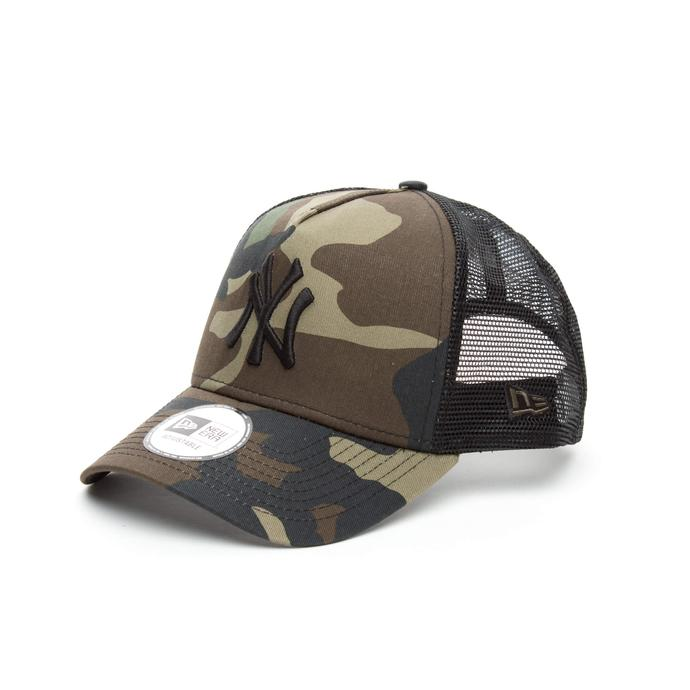 New Era New York Unisex Camo Yeşil Şapka