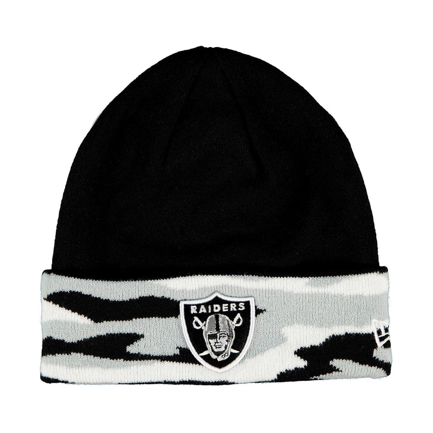New Era Oakland Raiders Unisex Siyah Bere