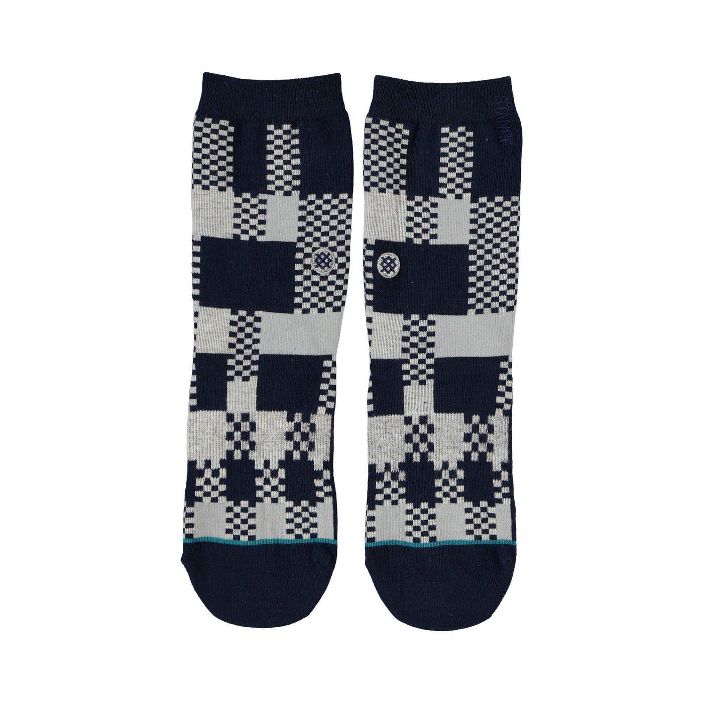 Stance Cruker Erkek Gri Çorap