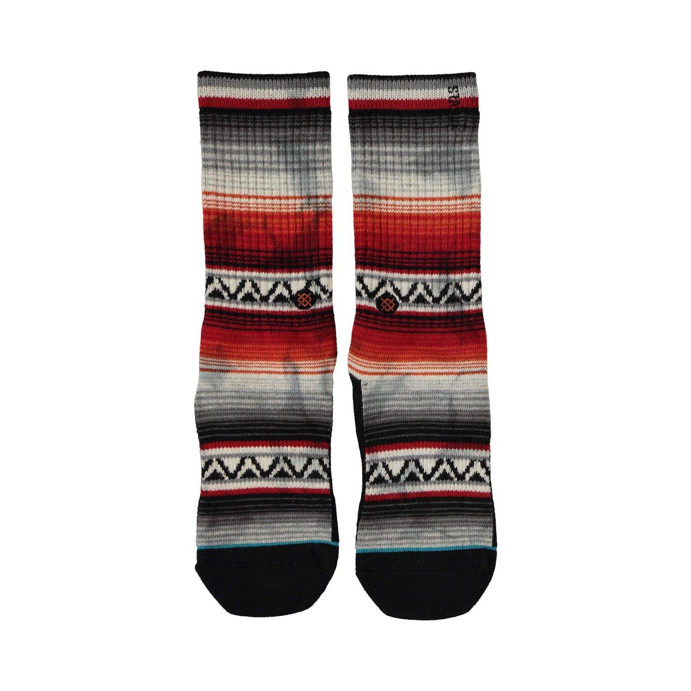 Stance Baja Malıbu Erkek Kırmızı Çorap