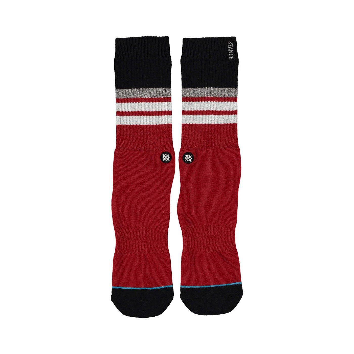 Stance Courtsıde Erkek Kırmızı Çorap