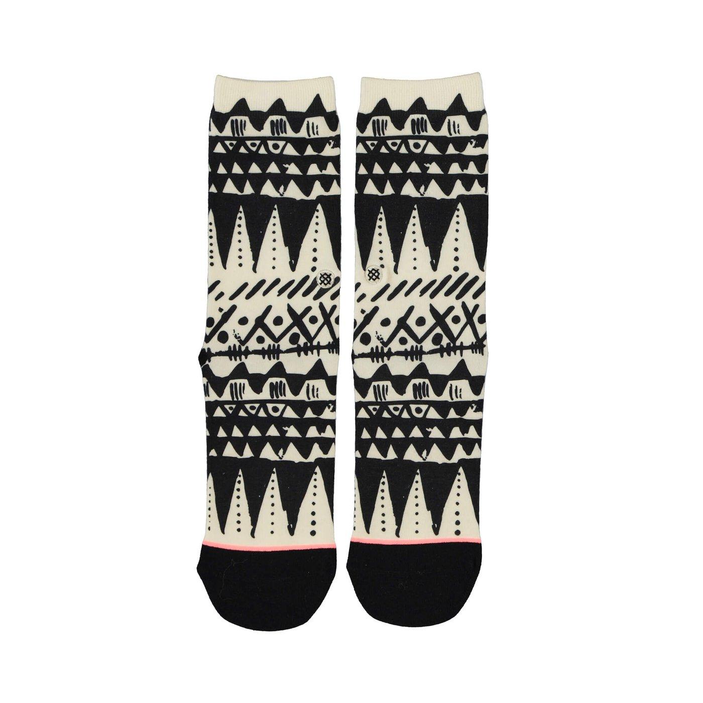 Stance Warrıor Prıncess Kadın Siyah beyaz Çorap