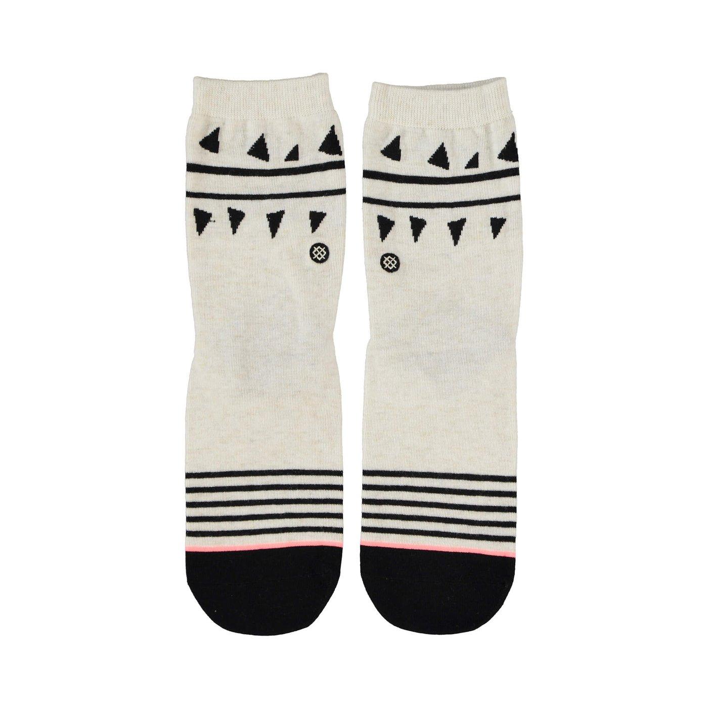 Stance Chompers Kadın Siyah Beyaz Çorap