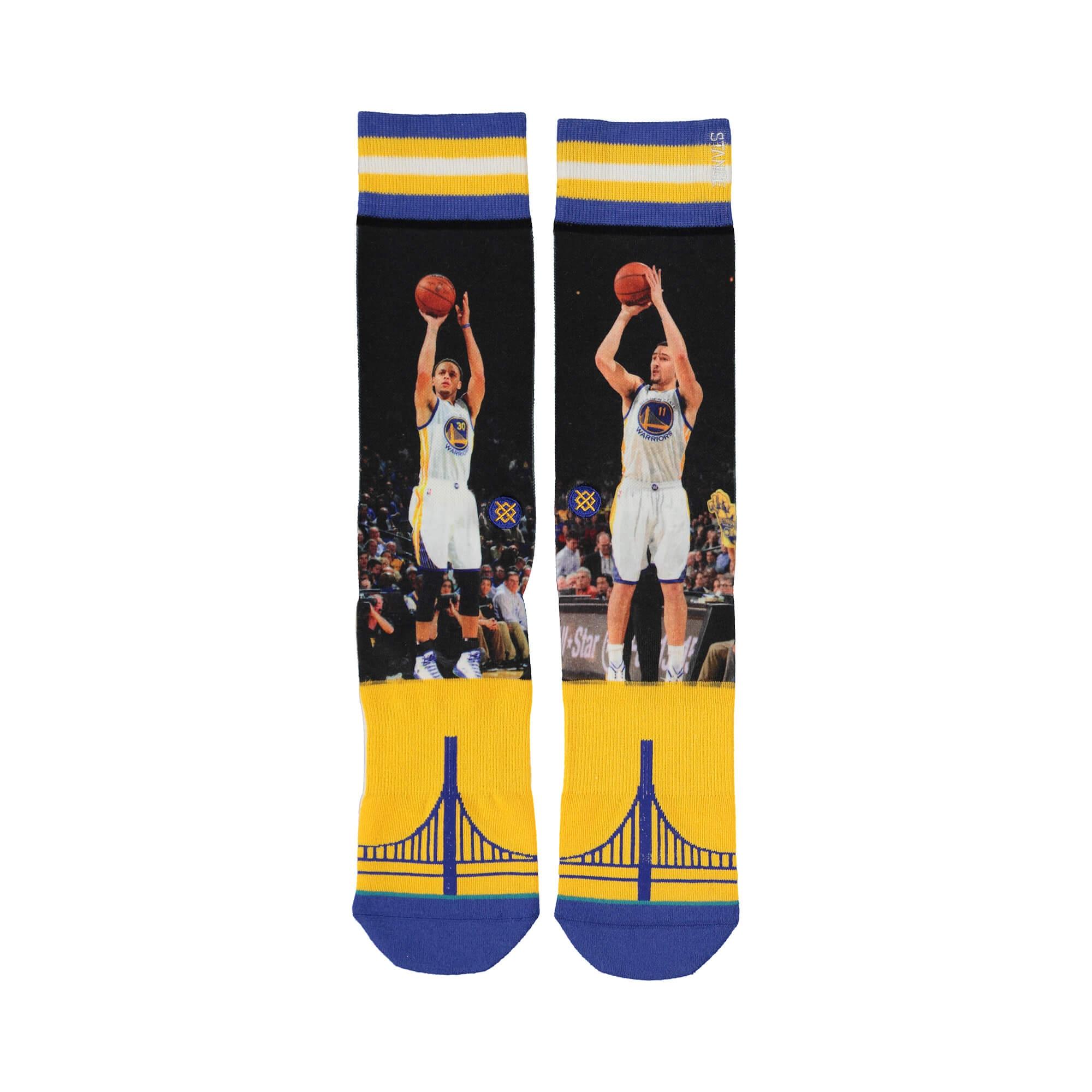 Stance Curry / Thompson Erkek Mavi Çorap