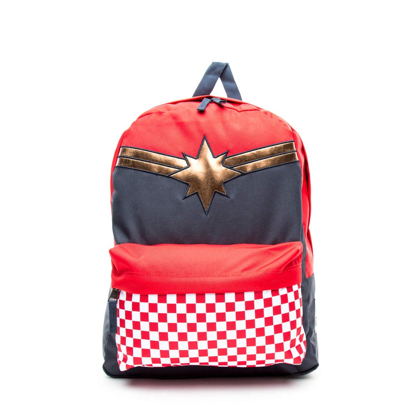Vans x Marvel Captain Realm Unisex Renkli Sırt Çantası