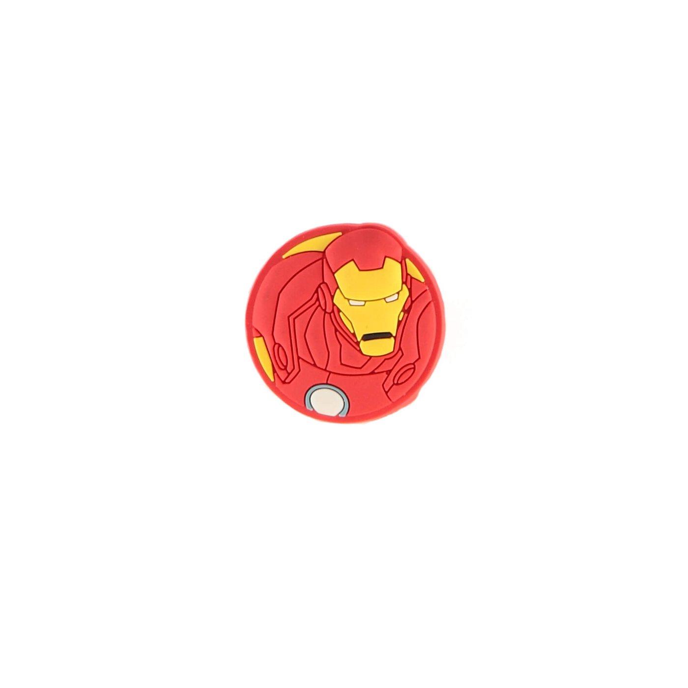 Crocs Avengers Iron Man Çocuk Kırmızı sandalet Rozeti