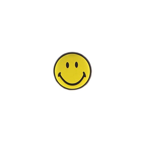 Jibbitz Smiley Brand Unisex Sarı Sandalet Rozeti