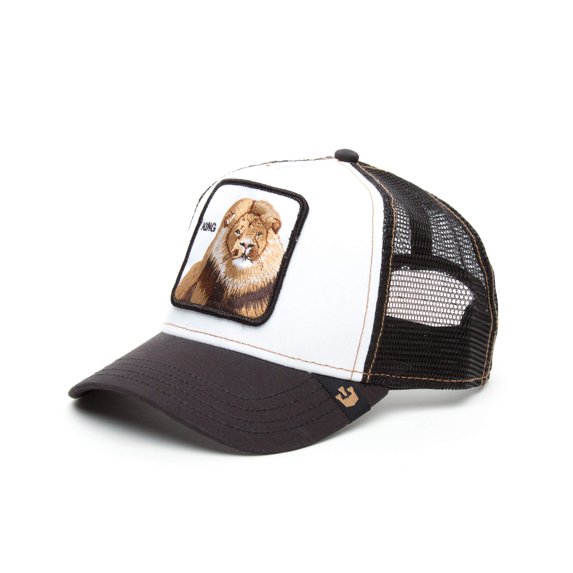 Goorin Bros King Unisex Siyah-Beyaz Şapka
