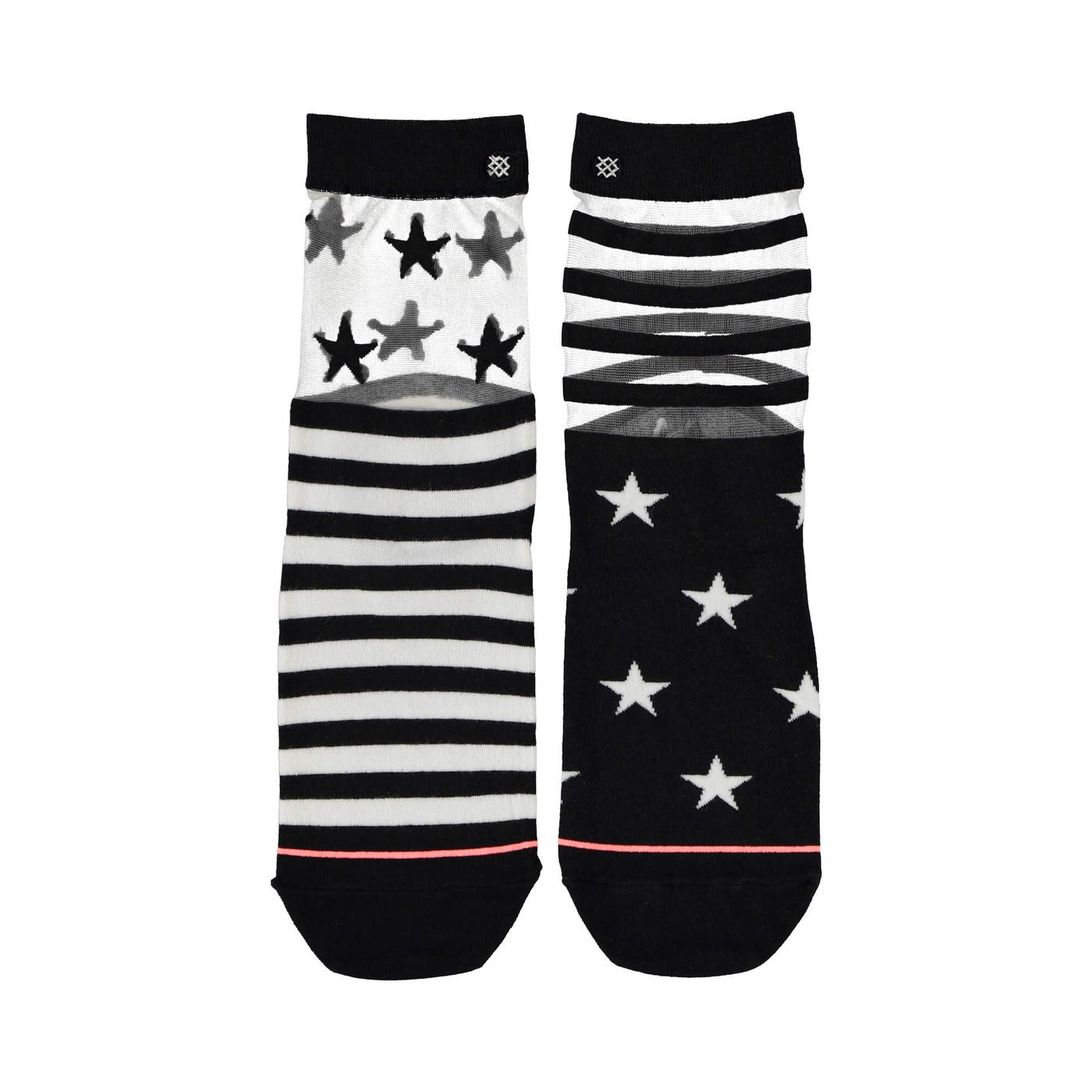 Stance Gothıc Star Kadın Siyah Çorap