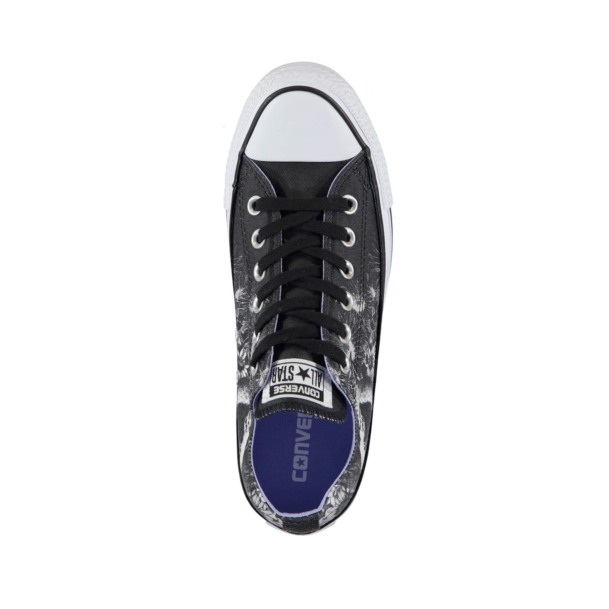 Converse Chuck Taylor All Star Kadın Siyah Desenli Sneaker