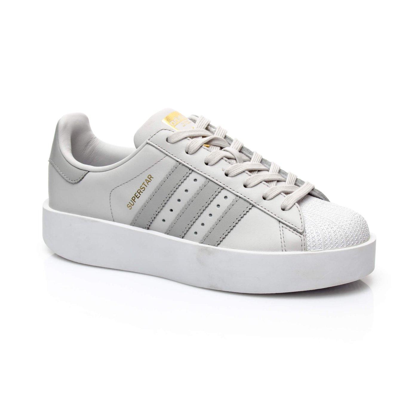 adidas Superstar Bold Kadın Gri Sneaker