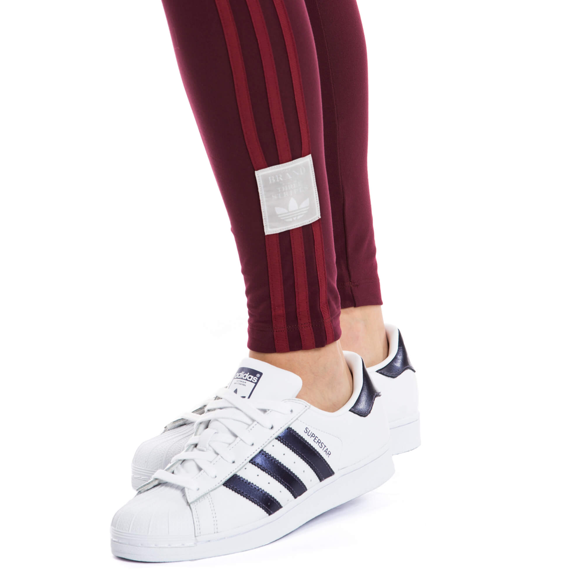 adidas Adibreak Tight Midngt Kadın Bordo Tayt