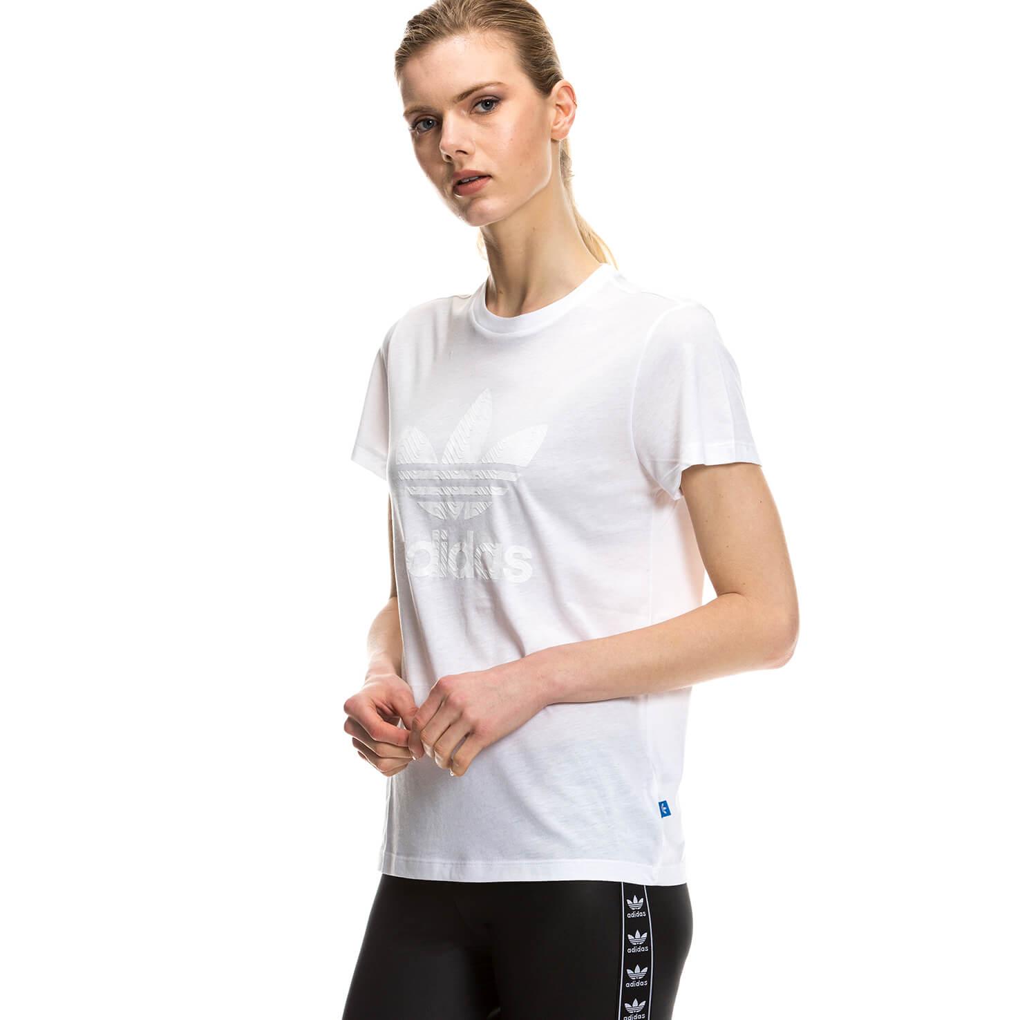 adidas Graphic Kadın Beyaz Tshirt