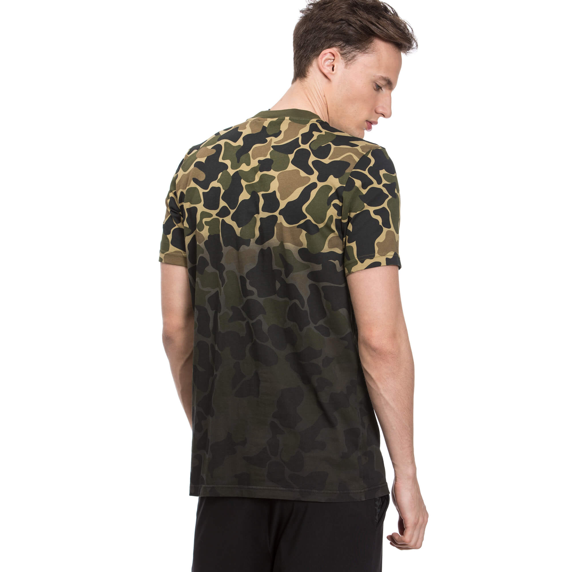 adidas Camo Tee Erkek Yeşil Tshirt