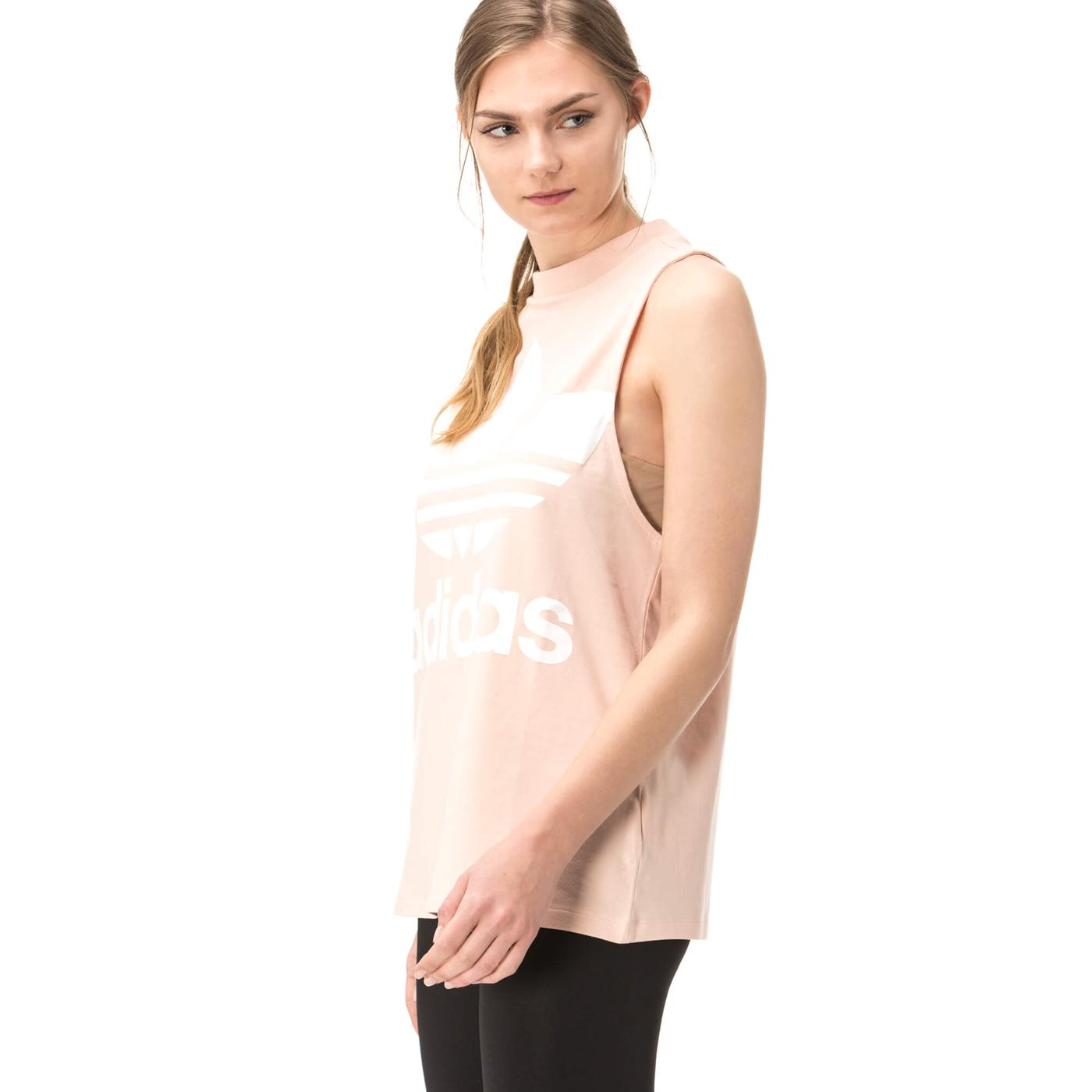 adidas Trefoil Kadın Pembe Tshirt