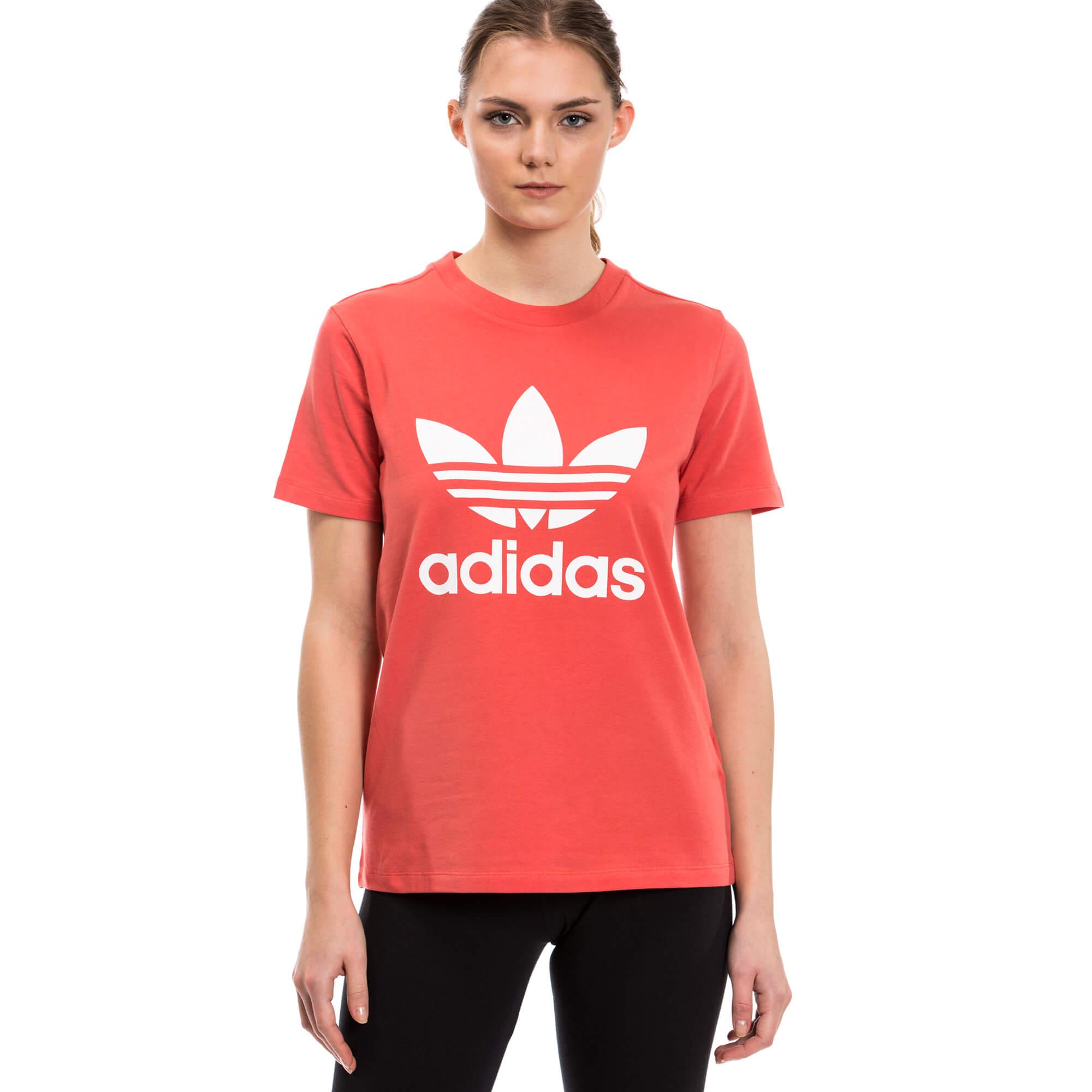 adidas Trefoil Tee Kadın Pembe Tshirt