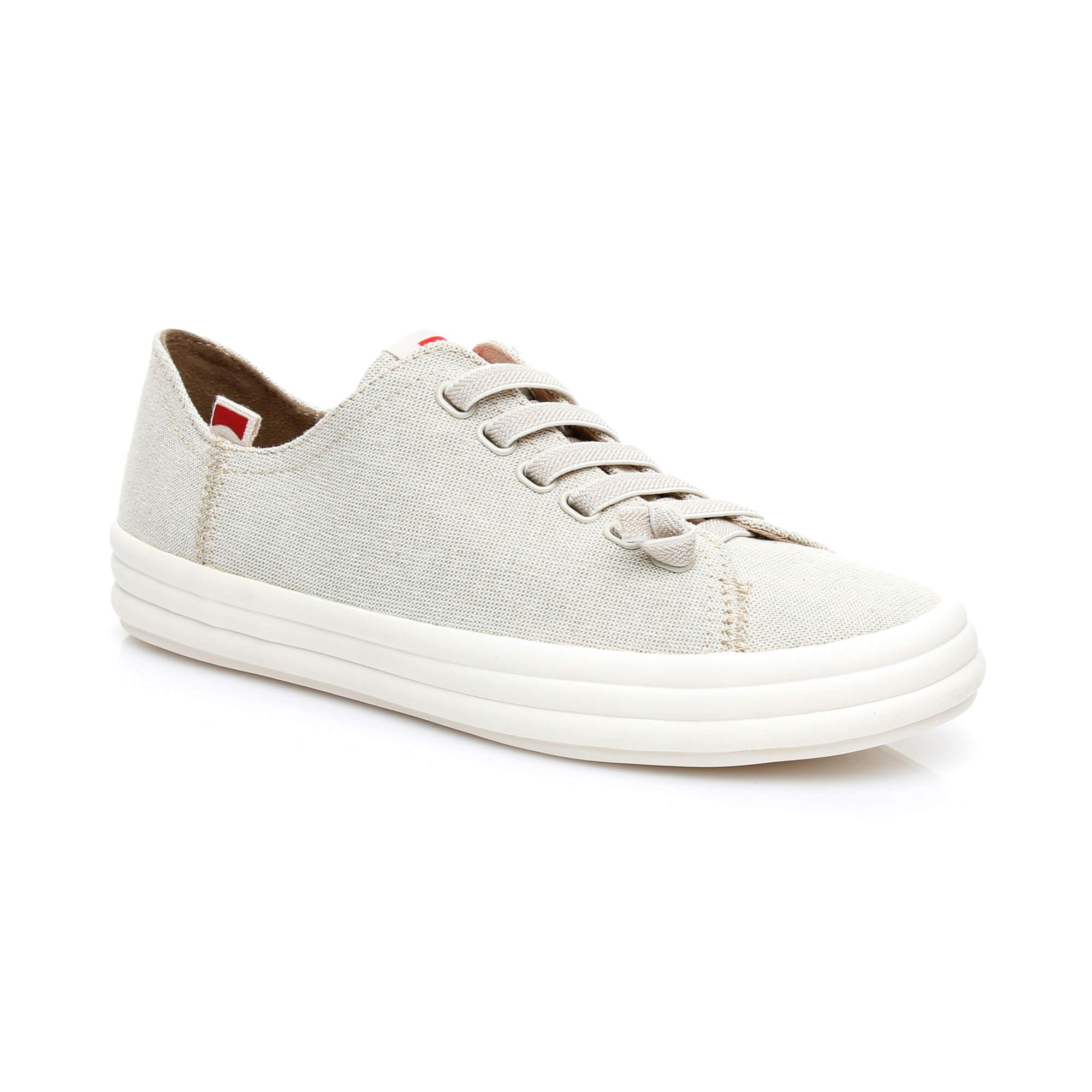 Camper Hoops Kadın Bej Sneaker