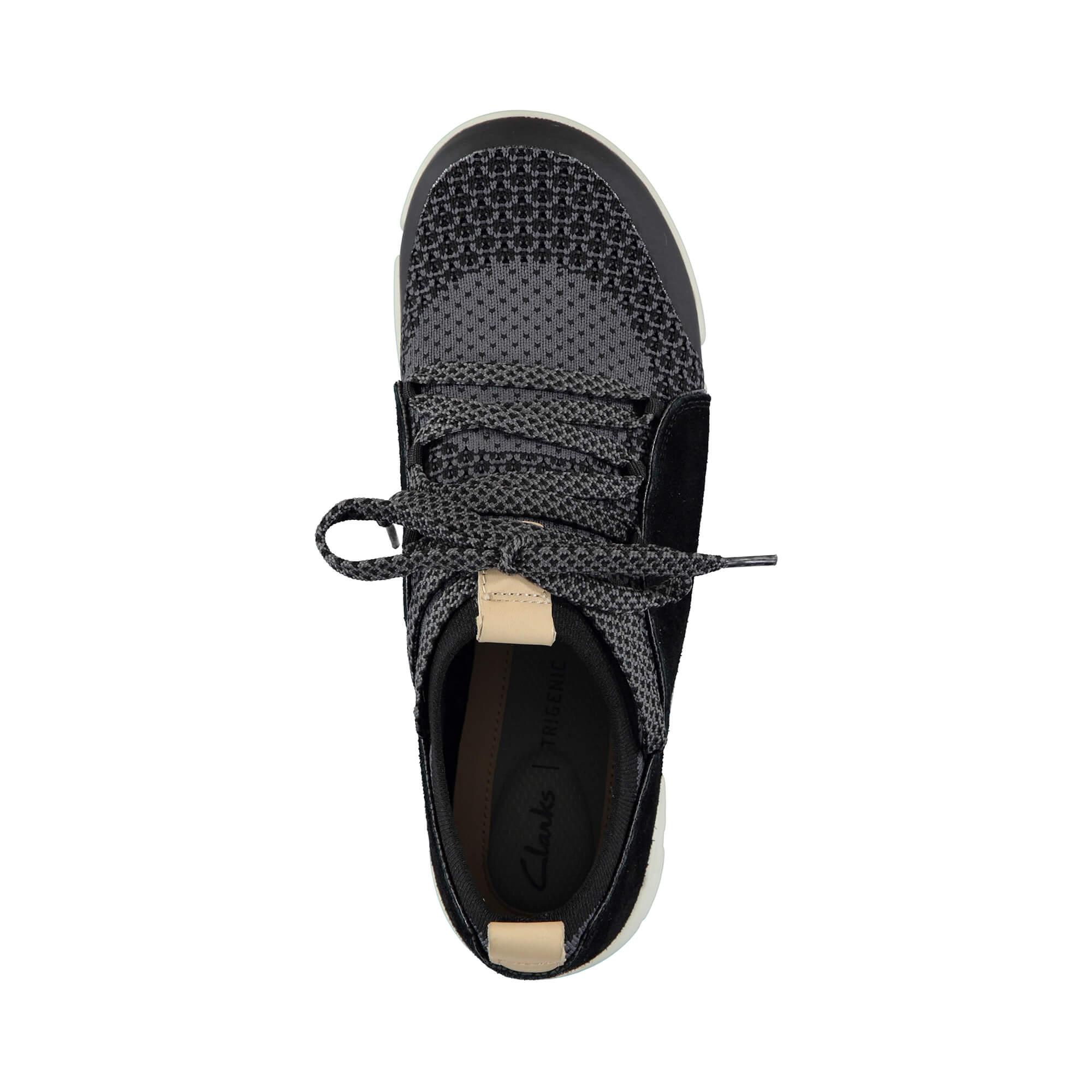 Clarks Tri Amelia Siyah Sneakers