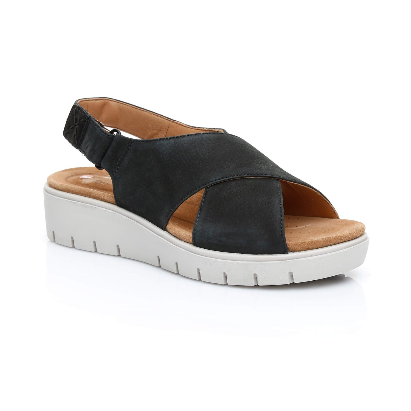 Clarks Un Karely Hail Kadın Siyah Sandalet
