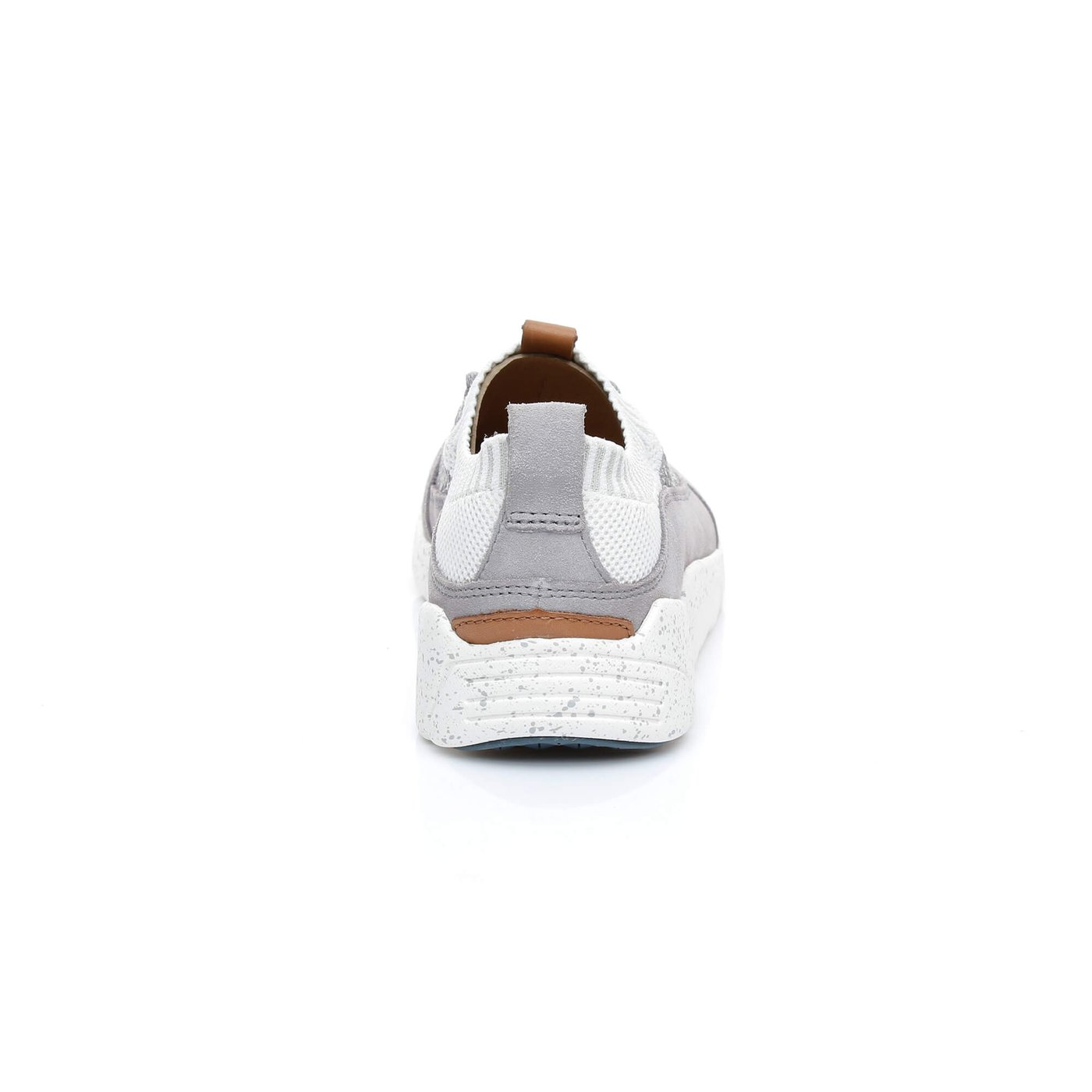 Clarks Triactive Knit Erkek Gri Sneakers