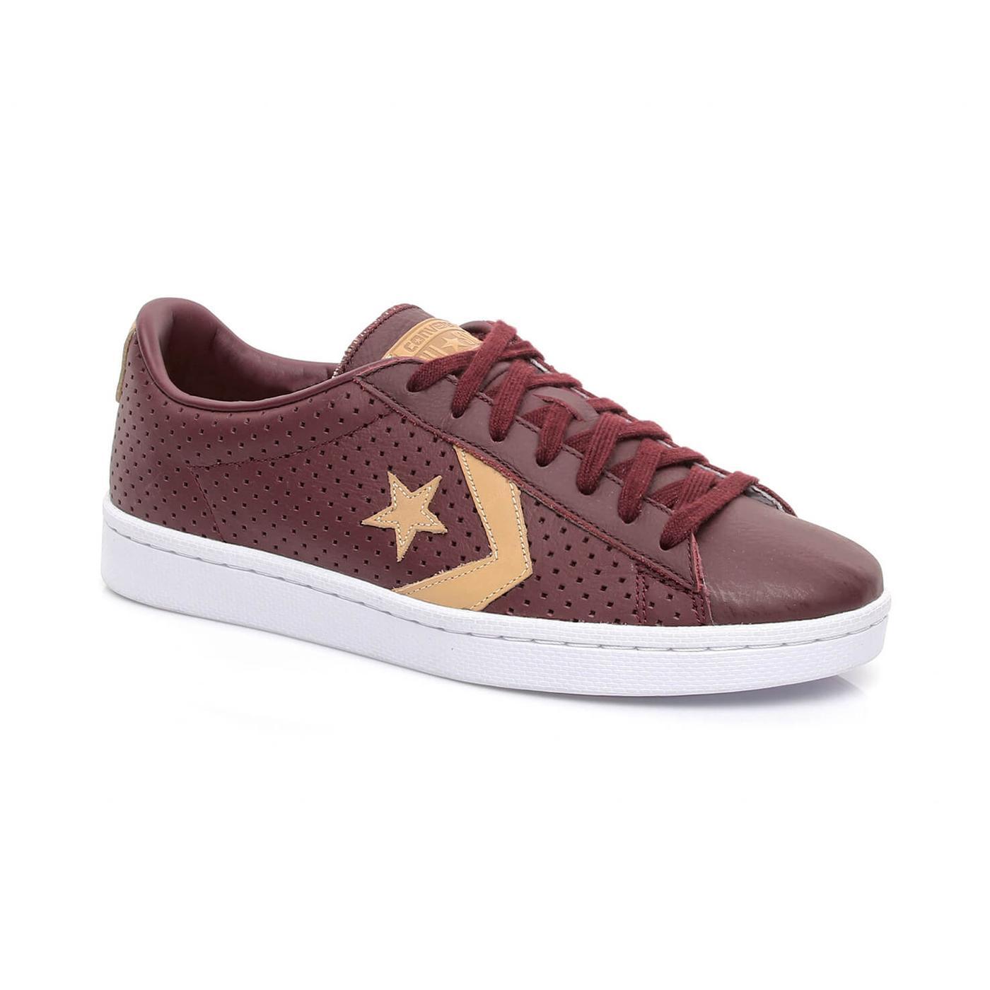 Converse Pro 76 Erkek Bordo Sneaker