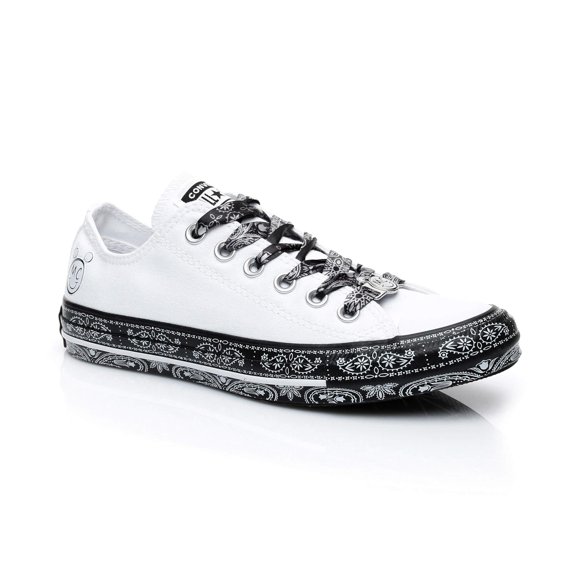 Converse X Miley Cyrus Chuck Taylor All Star ''Bandana'' Kadın Beyaz Sneaker