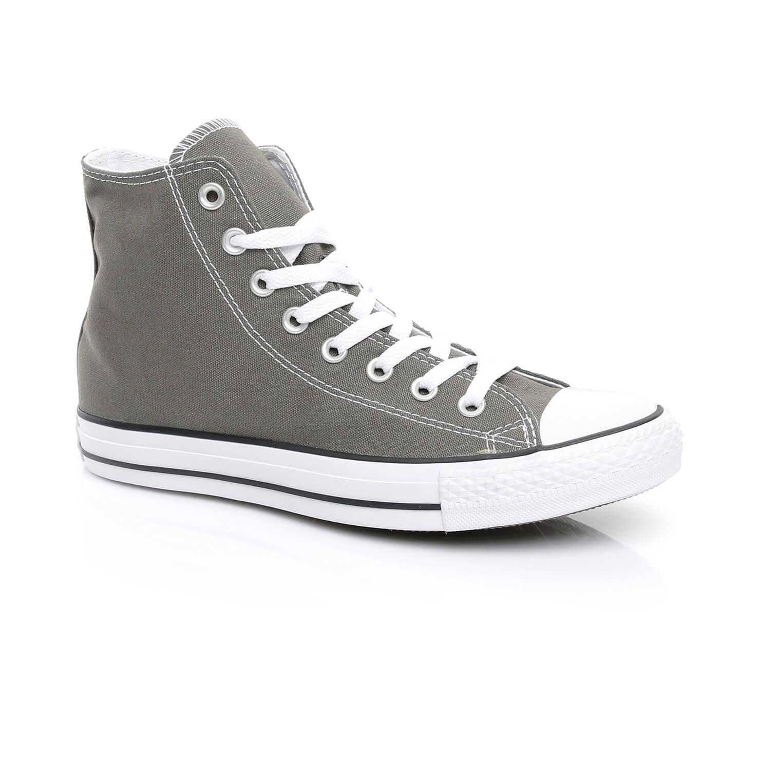 Converse Chuck Taylor All Star Hi Unisex Gri Sneaker