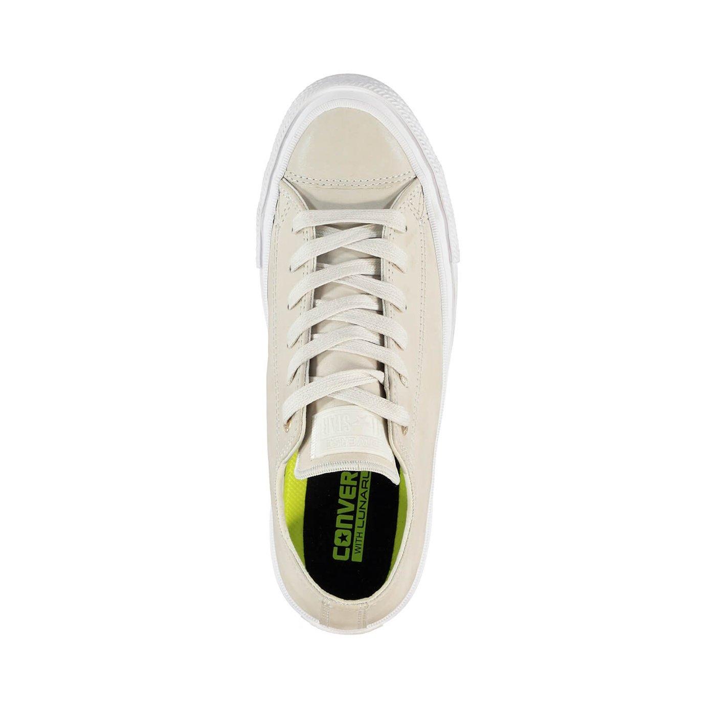 Converse Chuck Taylor All Star II Kadın Krem Sneaker