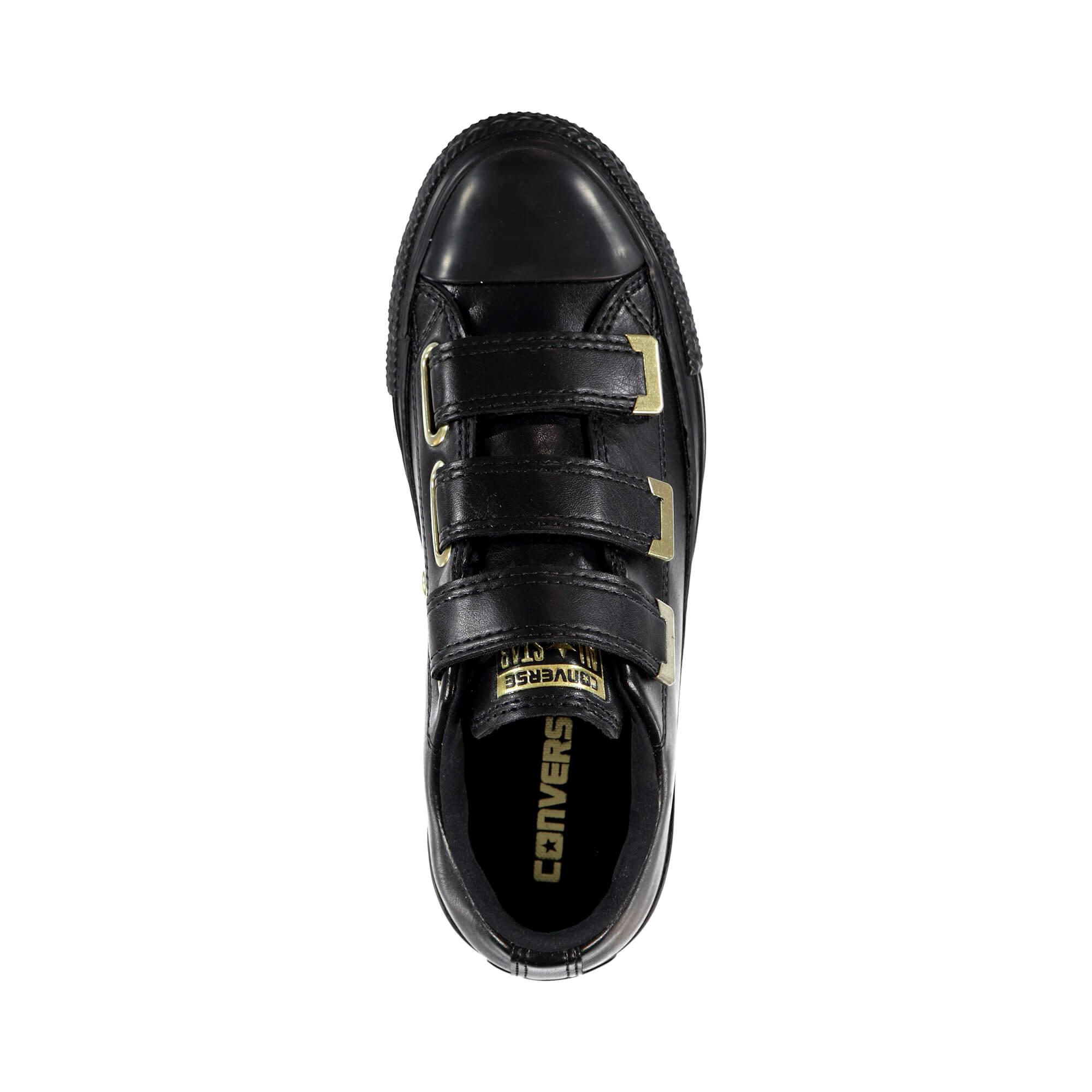 Converse Chuck Taylor All Star 3V Kadın Siyah Sneaker