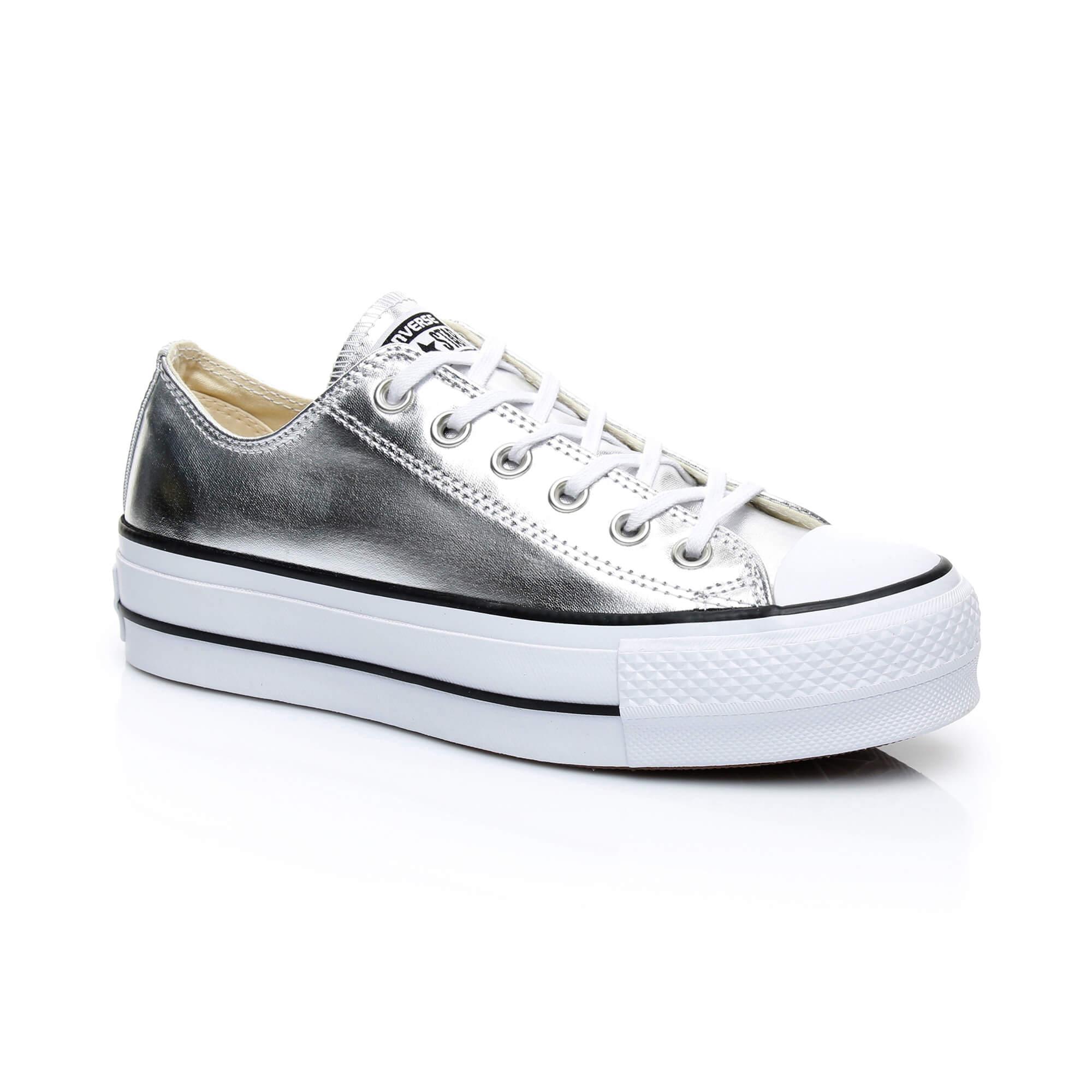 Converse Chuck Taylor All Star Lift Kadın Gümüş Sneaker
