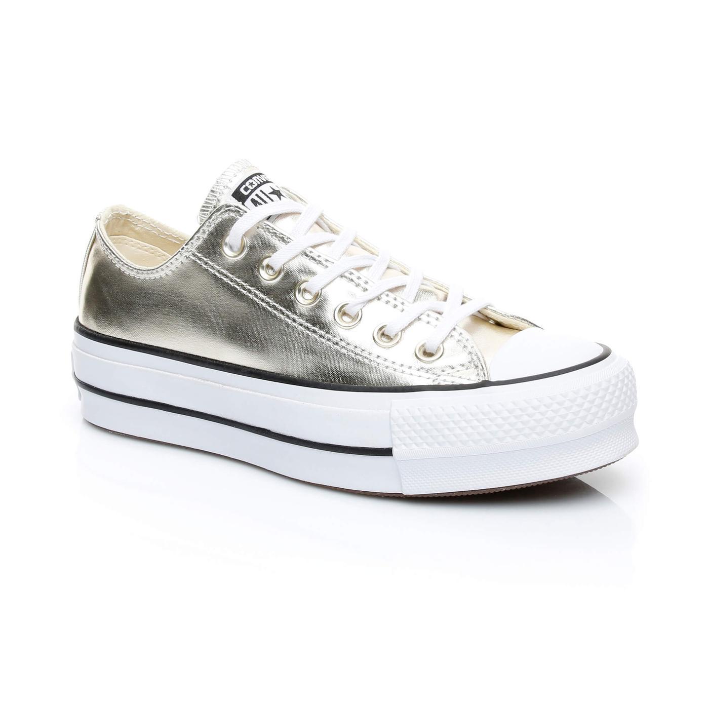 Converse Chuck Taylor All Star Lift Kadın Altin Sneaker
