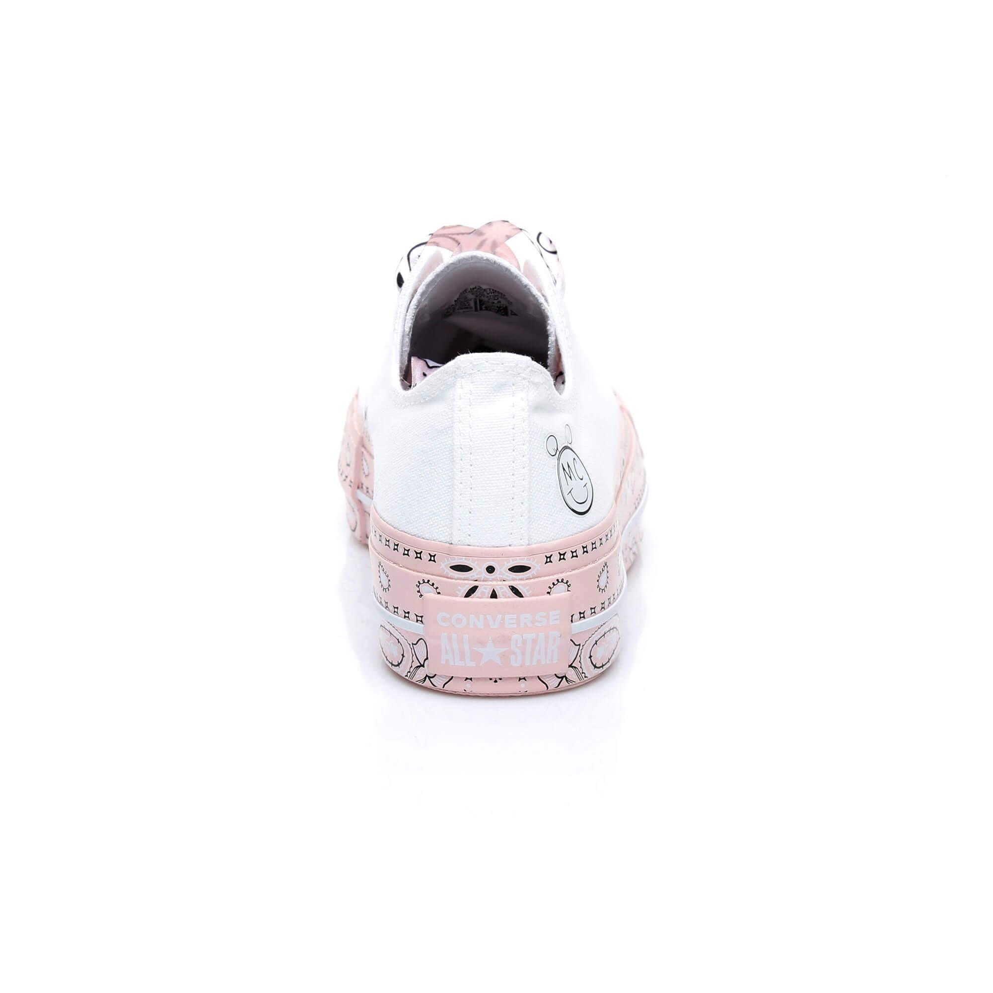 Converse X Miley Cyrus Chuck Taylor 'Bandana' Kadın Beyaz Sneaker