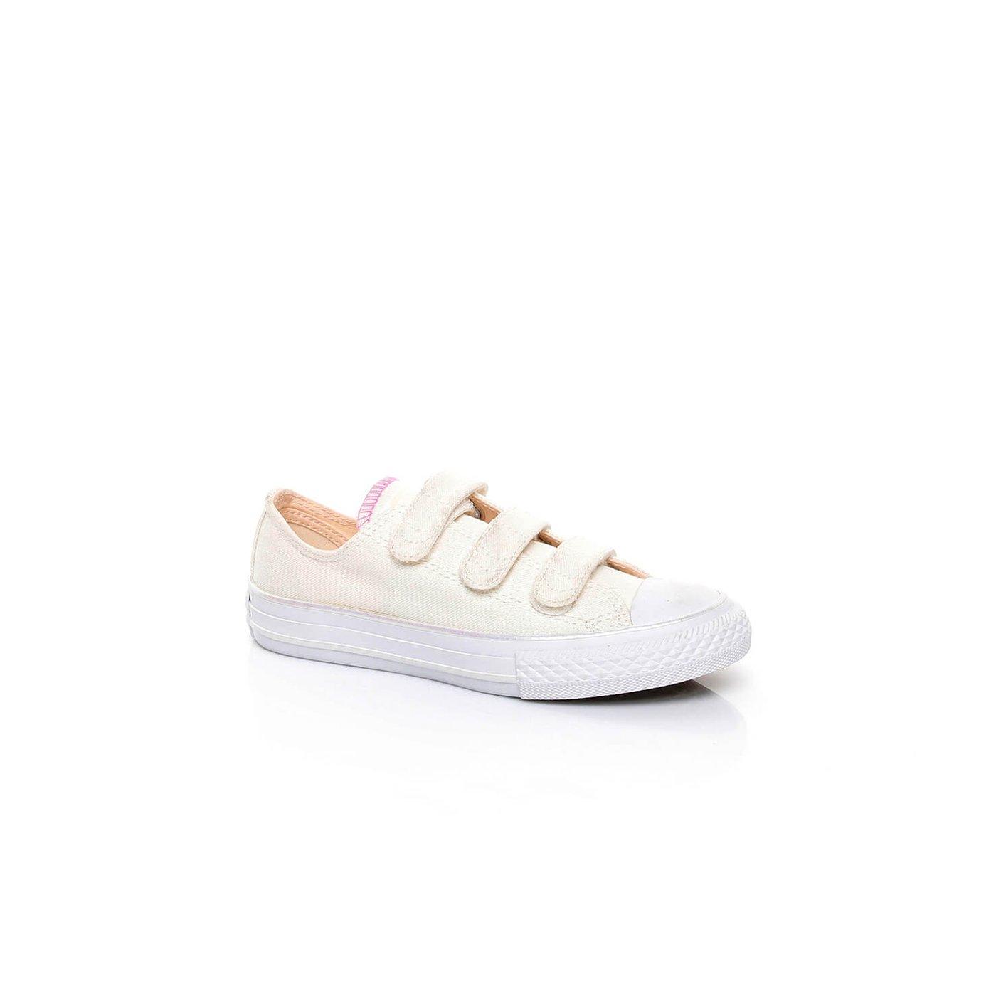 Converse Chuck Taylor All Star 3V Çocuk Pembe Sneaker