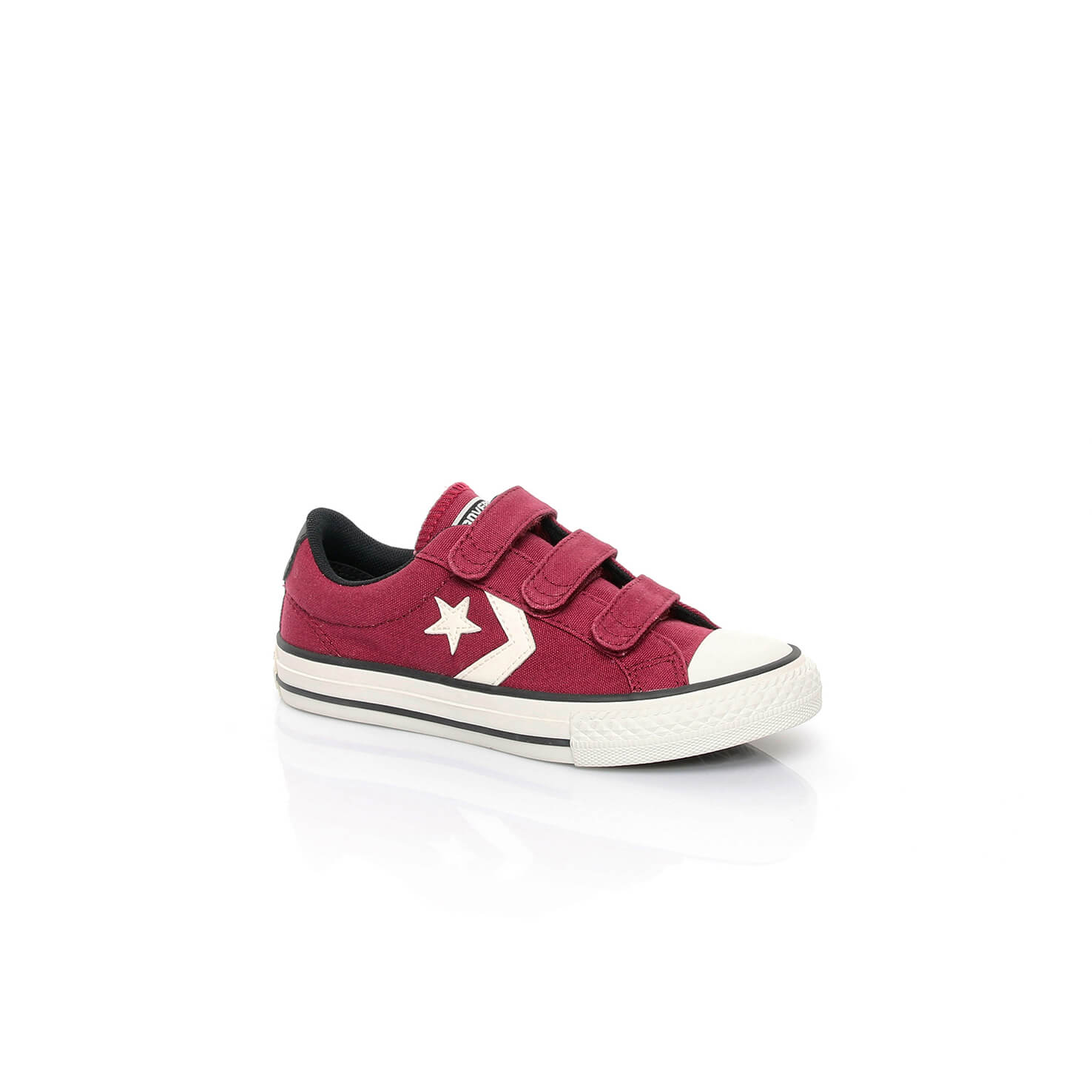 Converse Star Player 3V Çocuk Bordo Sneaker