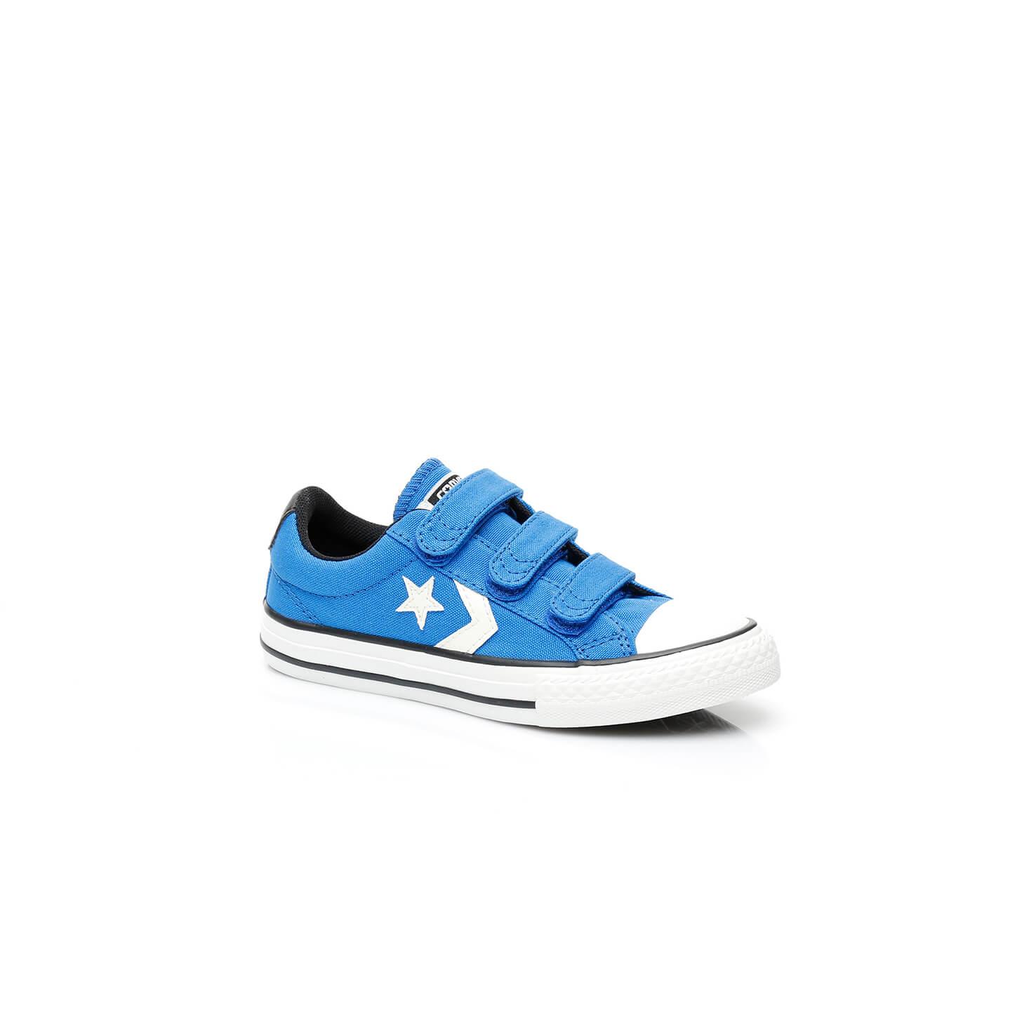 Converse Star Player 3 Çocuk Mavi Sneaker