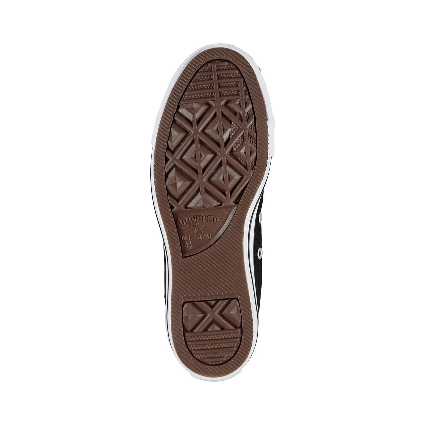 Converse All Star Mid HI Black Unisex Siyah Sneaker