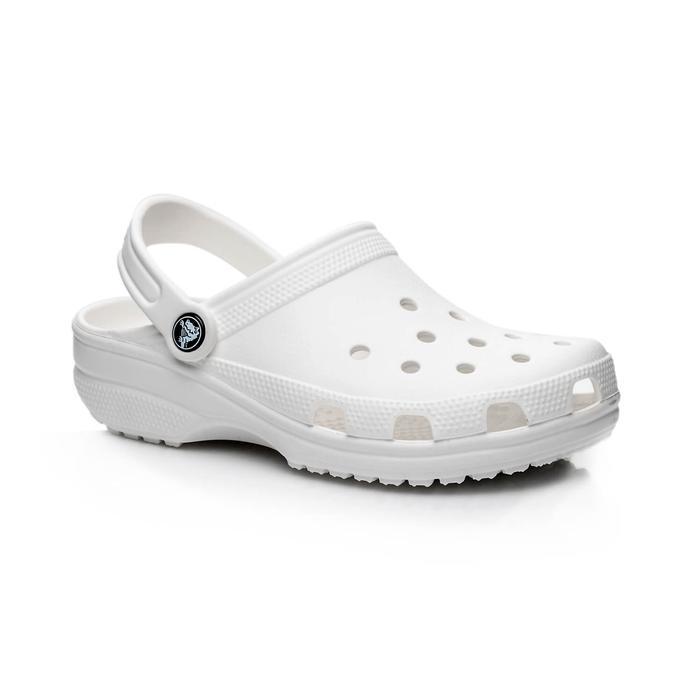 Crocs Classic Clog Erkek Beyaz Sandalet