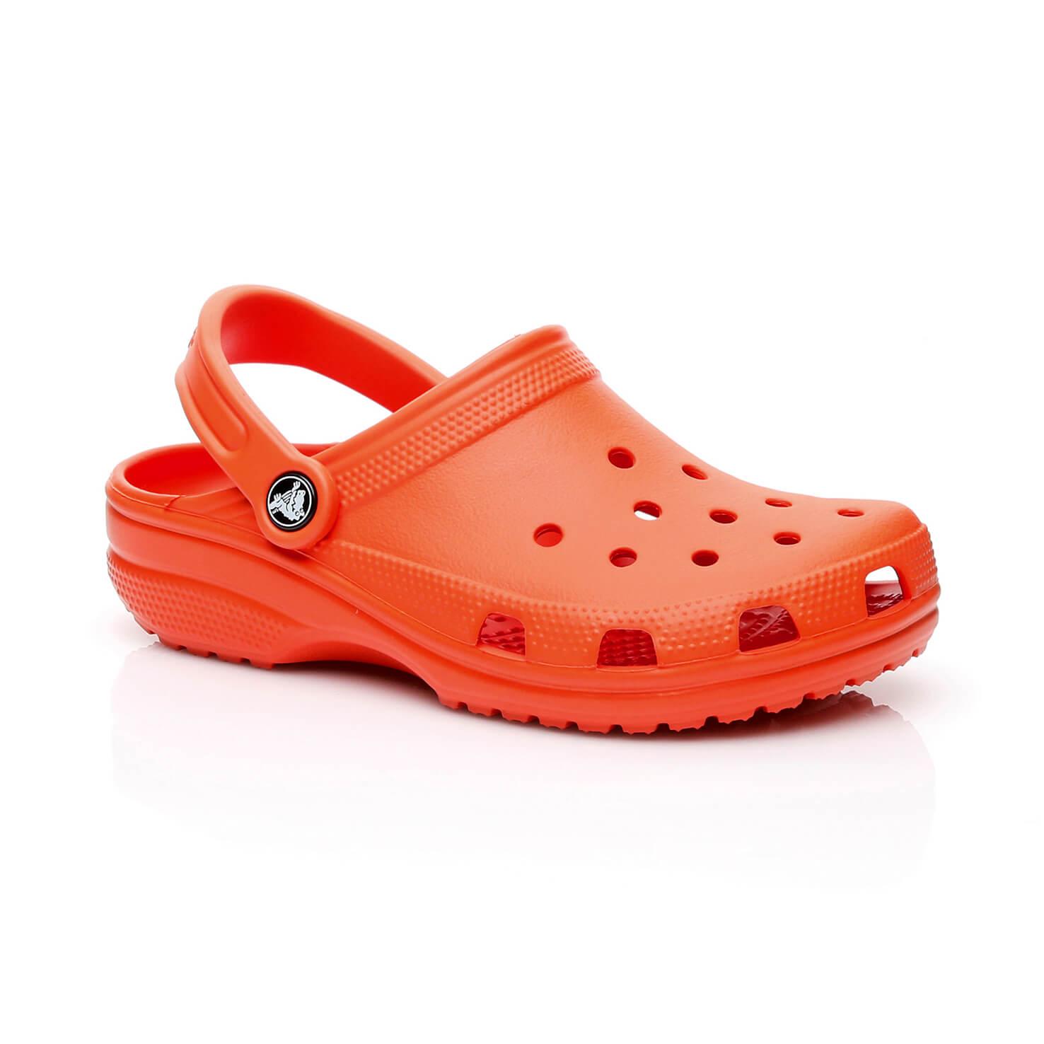 Crocs Classic Clog Unisex Turuncu Sandalet
