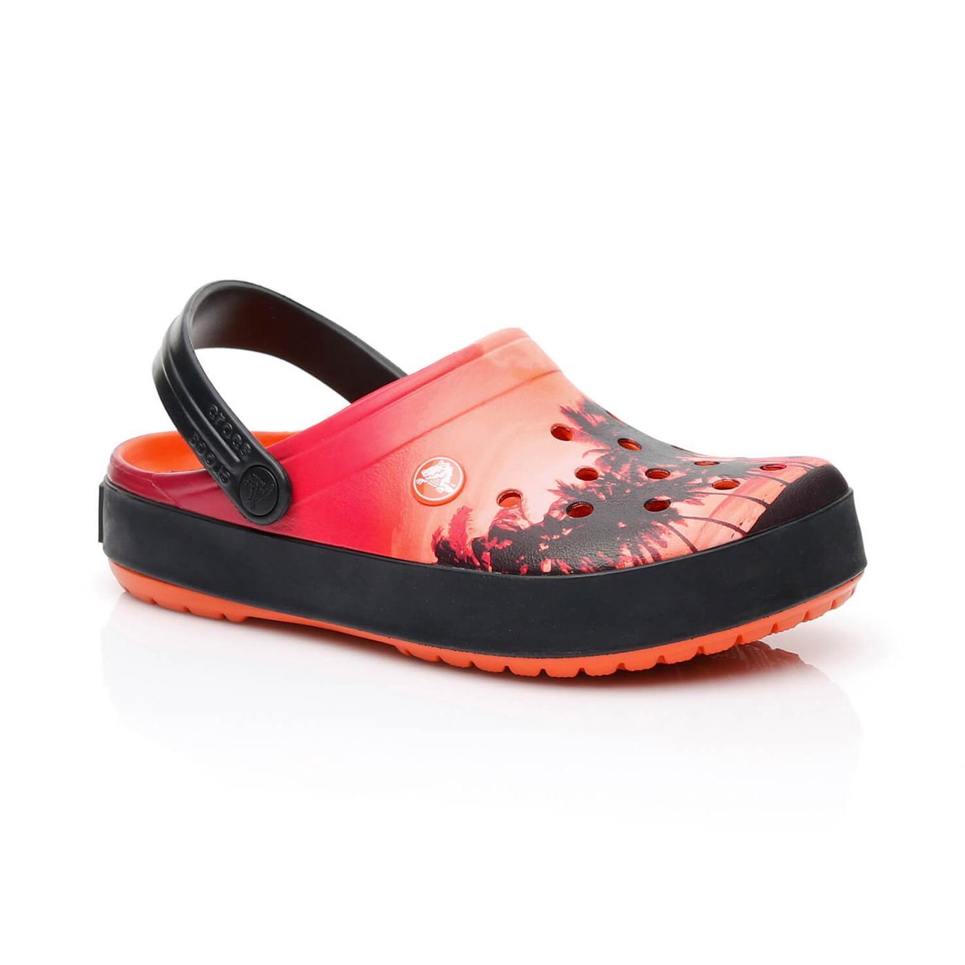 Crocs Crocband Tropics Clog Turuncu Sandalet