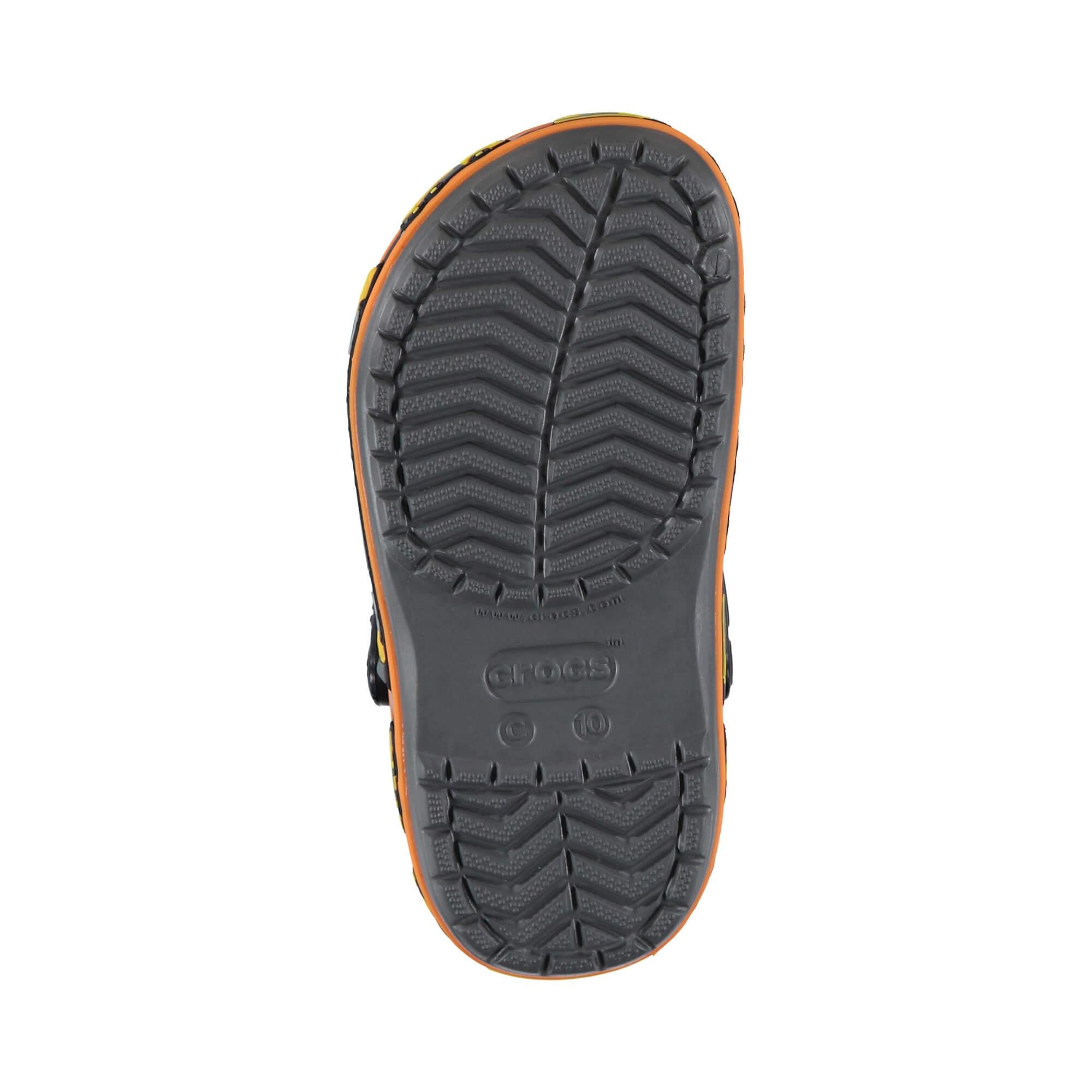 Crocs Fun Lab Graphic Clg Çocuk Gri Renkli Sandalet