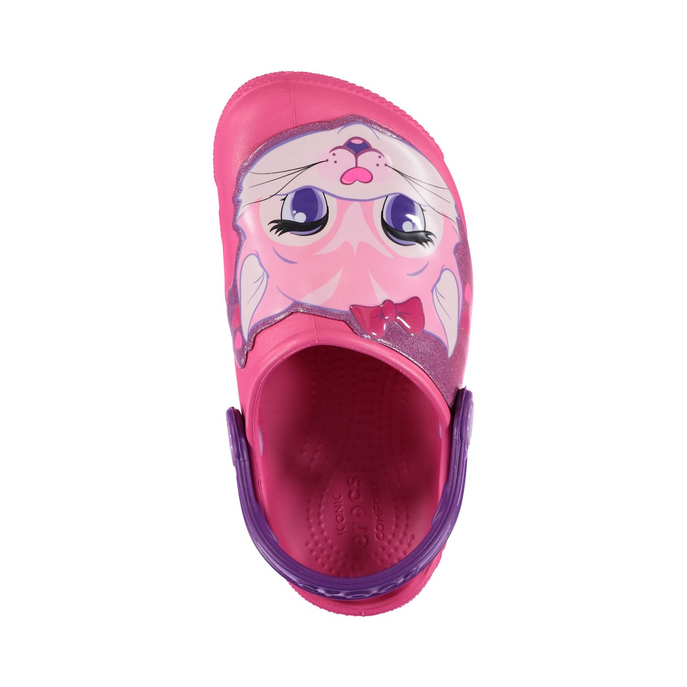 Crocs Fun Lab Lights Clog Çocuk Pembe Sandalet